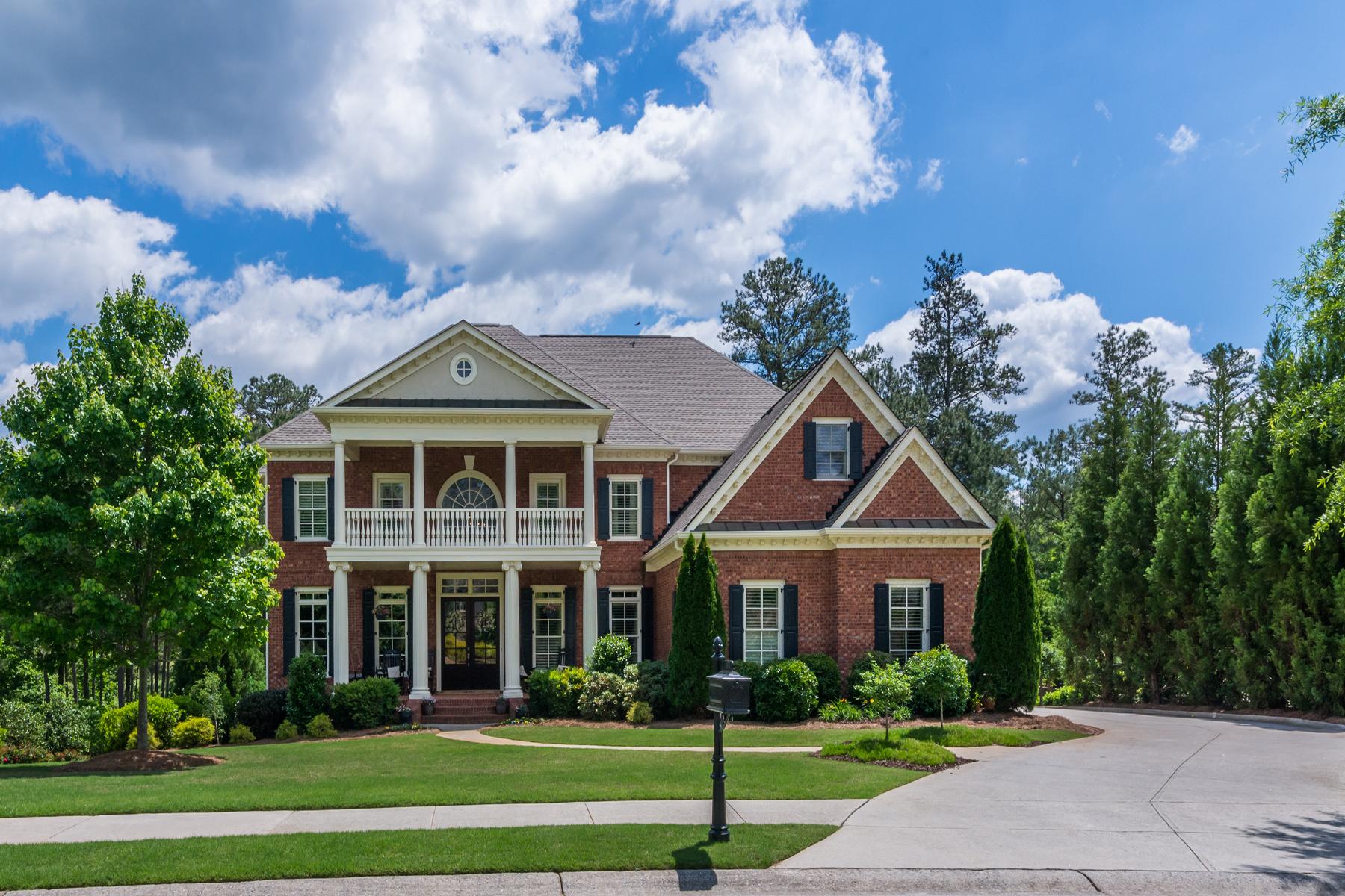 단독 가정 주택 용 매매 에 Luxury Home In Gated Golf Community 4374 Oglethorpe Loop NW Acworth, 조지아, 30101 미국