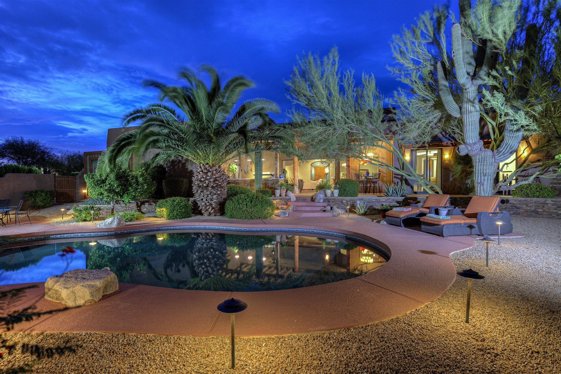 sales property at One-of-a-kind custom home in Scottsdale