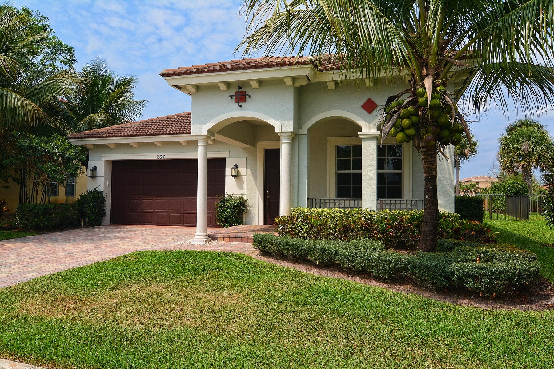 Einfamilienhaus für Verkauf beim 237 Porgee Rock Place Rialto, Jupiter, Florida 33458 Vereinigte Staaten
