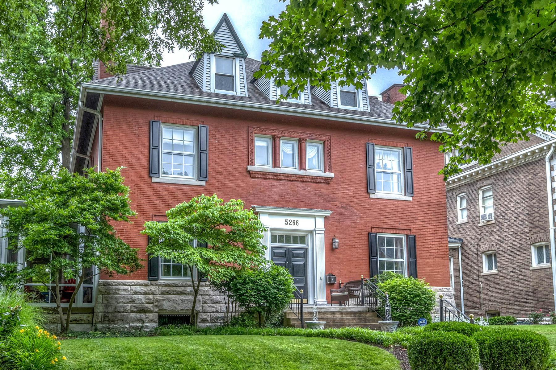 Tek Ailelik Ev için Satış at Westminster Ave 5266 Westminster Place St. Louis, Missouri 63108 Amerika Birleşik Devletleri