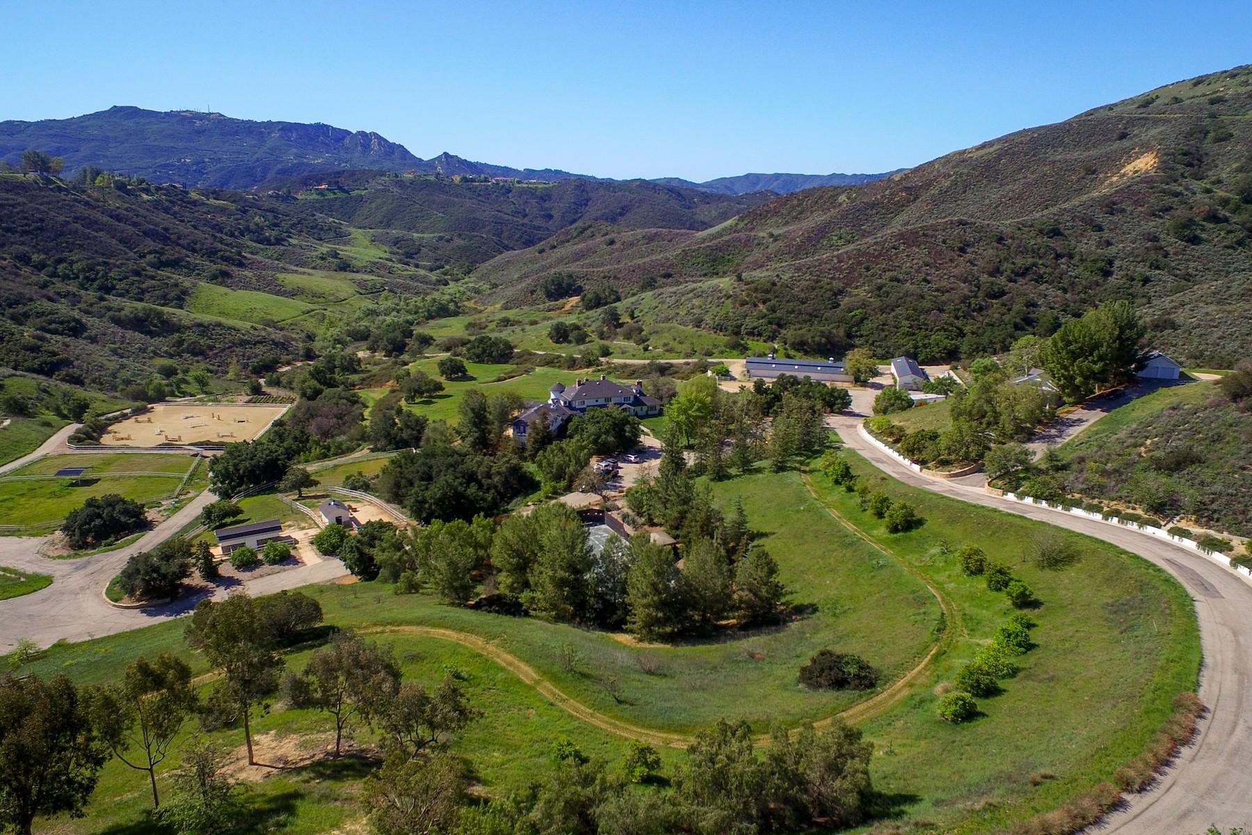 Single Family Home for Sale at Paseo Del Rancho 24900 Paseo Del Rancho Calabasas, California, 91302 United States