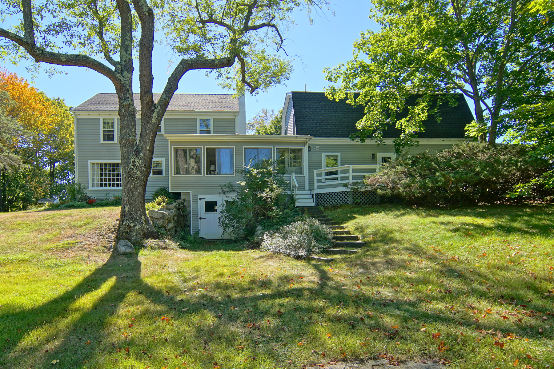 Single Family Home for Sale at Traditional Rye Colonial Set on Meadow-Like Acre 19 Blueberry Lane Rye, New Hampshire, 03870 United States