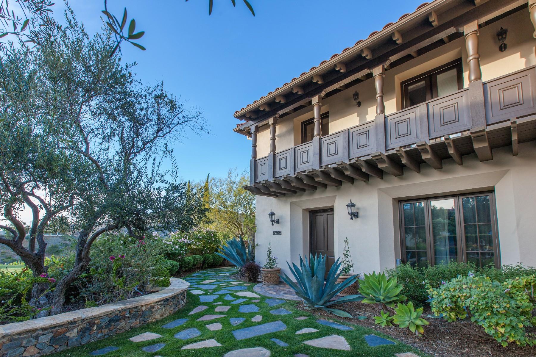 Casa Unifamiliar por un Venta en Calle Amanecer 7762 Calle Amanacer Rancho Santa Fe, California 92067 Estados Unidos