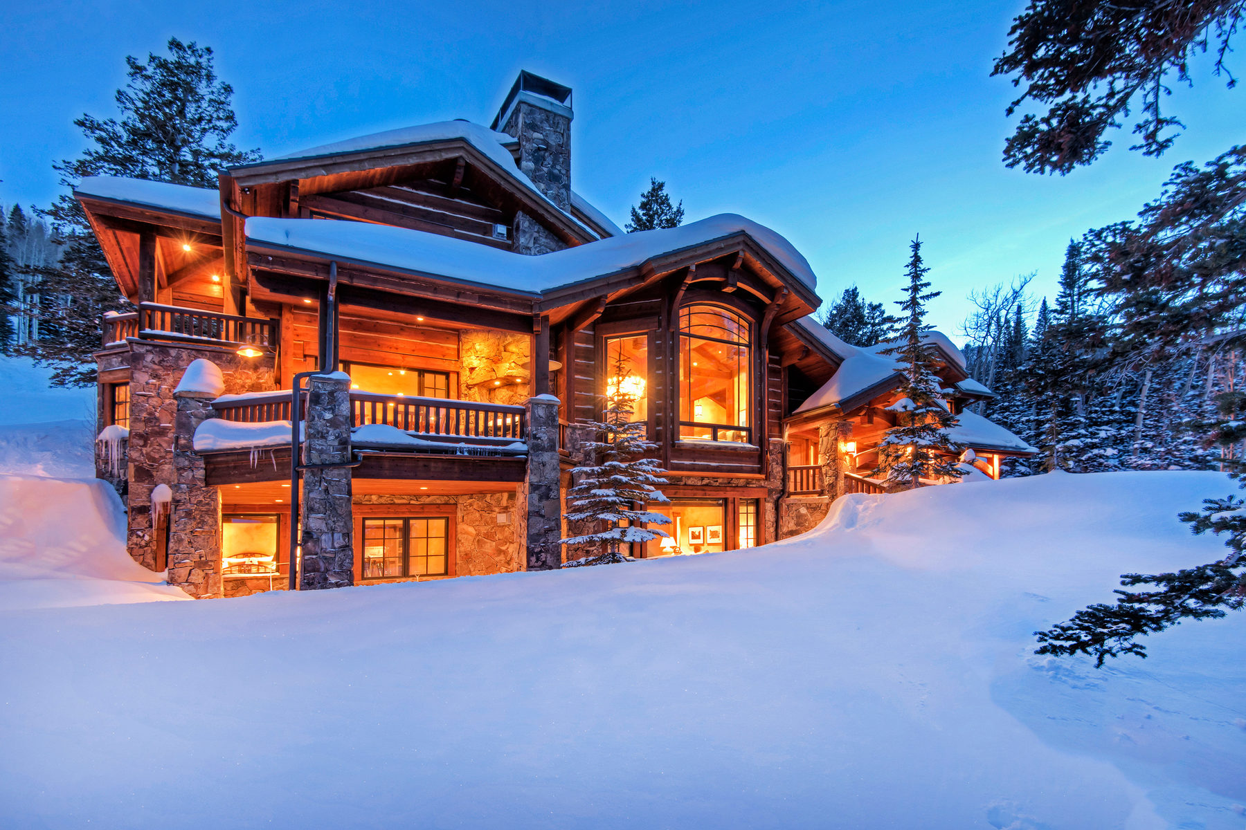 Single Family Home for Sale at Dreamcatcher Lodge 125 White Pine Canyon Rd Park City, Utah 84060 United States