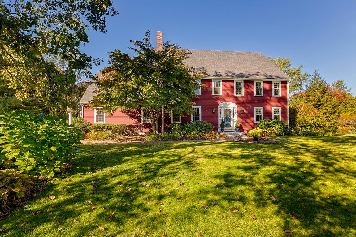 Property For Sale at Quintessential New England Reproduction Colonial