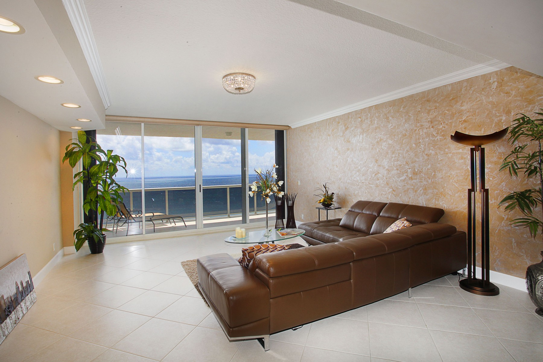 Condominium for Sale at L'Hermitage 3200 N. Ocean Blvd. #1902 Fort Lauderdale, Florida 33308 United States