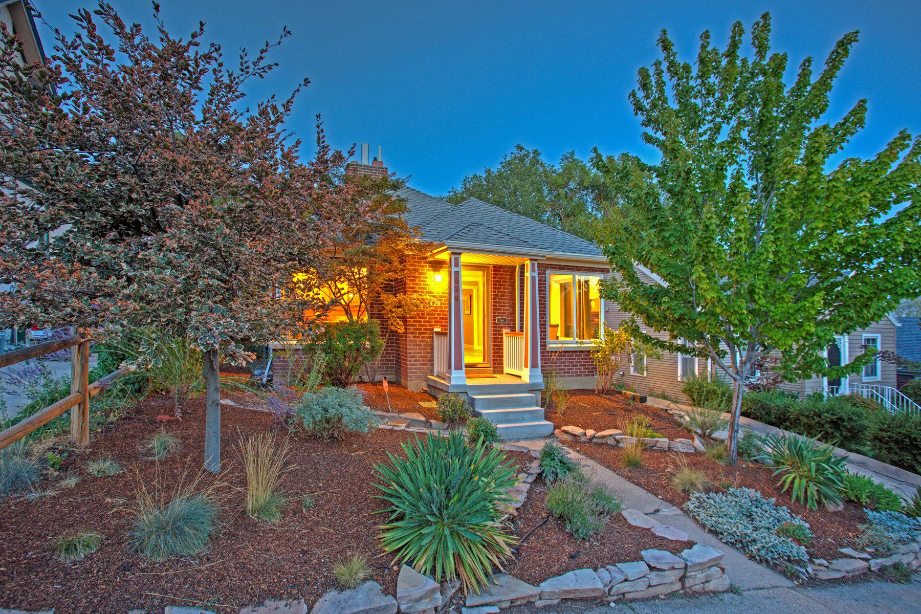 단독 가정 주택 용 매매 에 Greater Avenues Green Living 428 N J St Salt Lake City, 유타 84103 미국