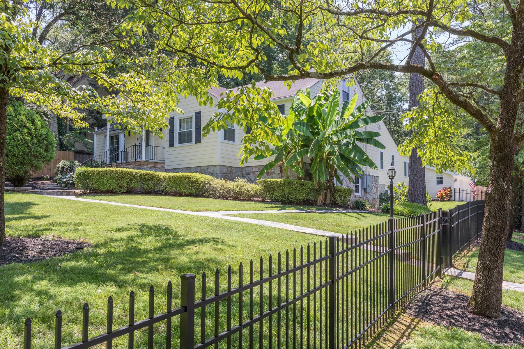 Single Family Home for Sale at Tranquil Buckhead Oasis 4228 Wieuca Road NE North Buckhead, Atlanta, Georgia, 30342 United States