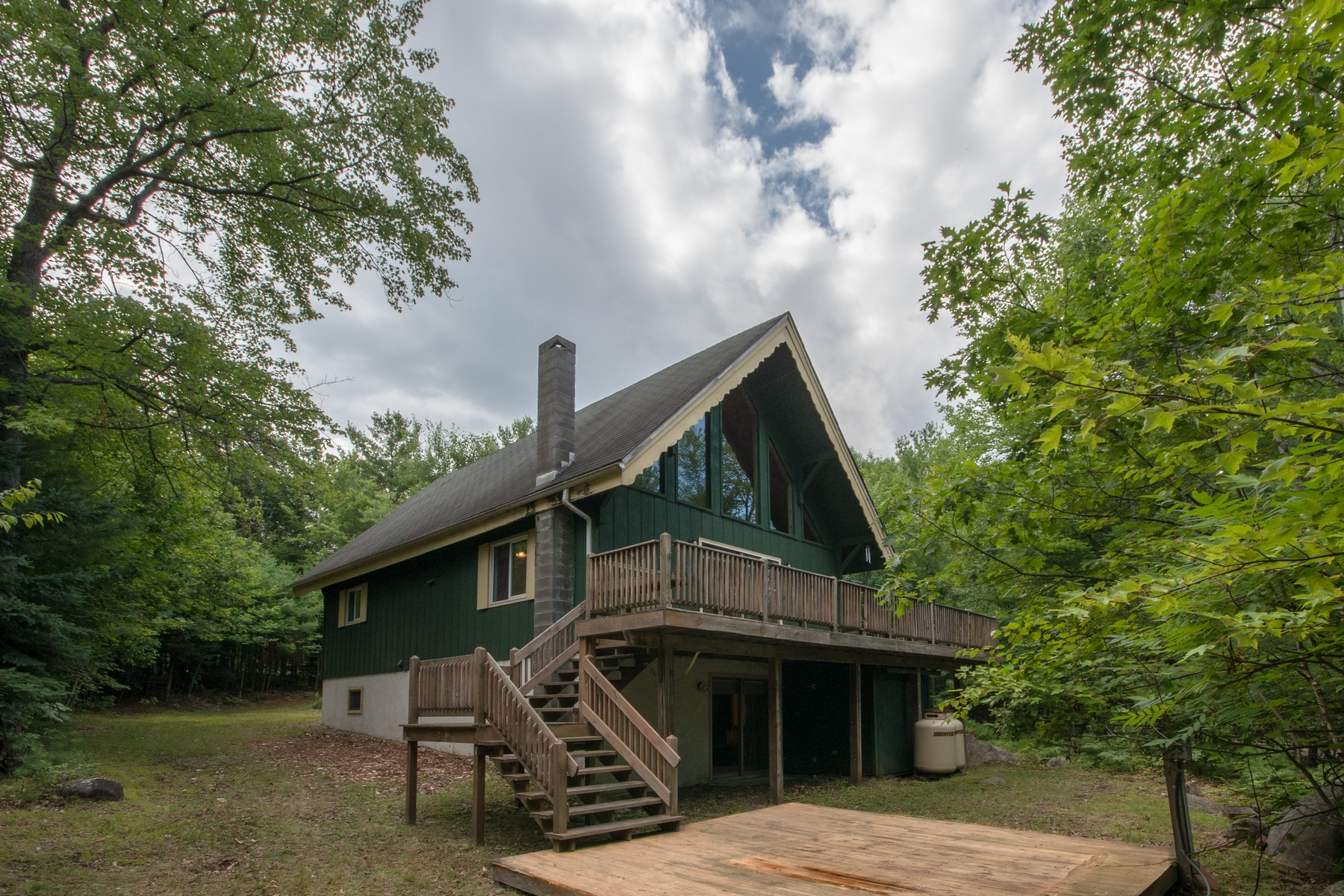 Property For Sale at Ski Chalet on Wooded Lot