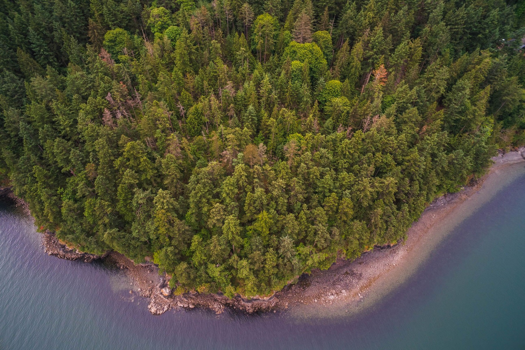 sales property at 13.87 Acres with 1360' of waterfront on Lummi Island