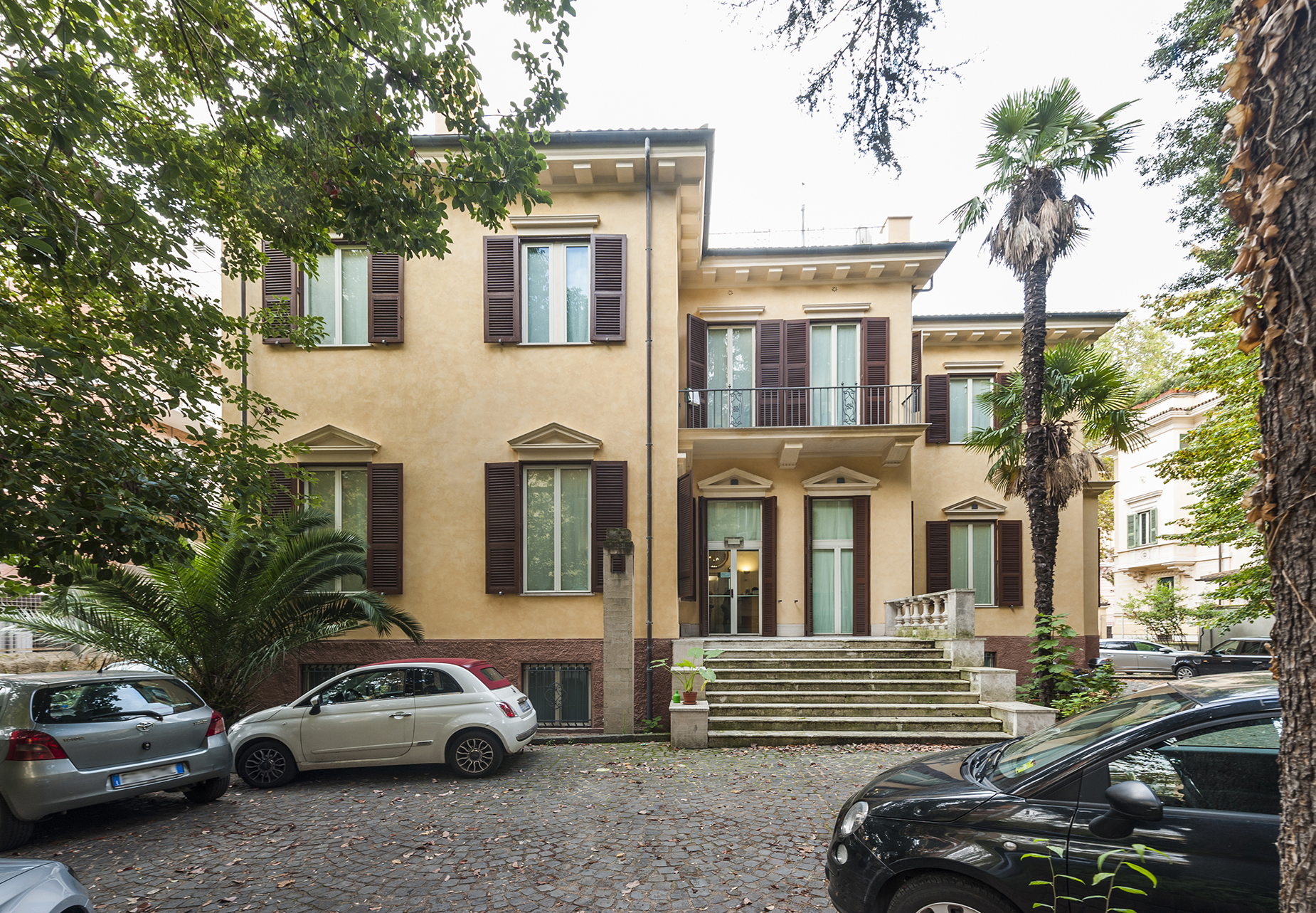 Single Family Home for Rent at Prestigious period house with private parking Viale Gioacchino Rossini Rome, 00197 Italy