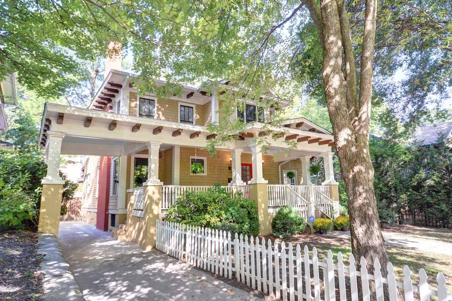 Single Family Home for Active at Completely Renovated Historic Midtown Home 698 Myrtle Street Atlanta, Georgia 30308 United States