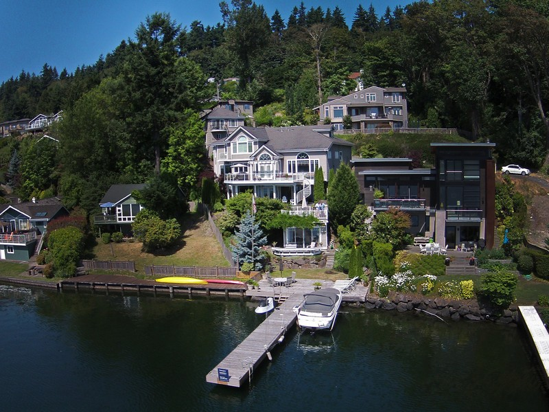Property For Sale at Premier Mercer Island Home - European Grandeur Awaits