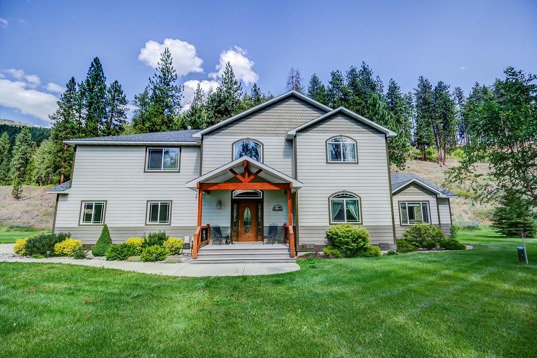 Casa para uma família para Venda às 12600 Hwy 10 E Clinton, Montana 59825 Estados Unidos