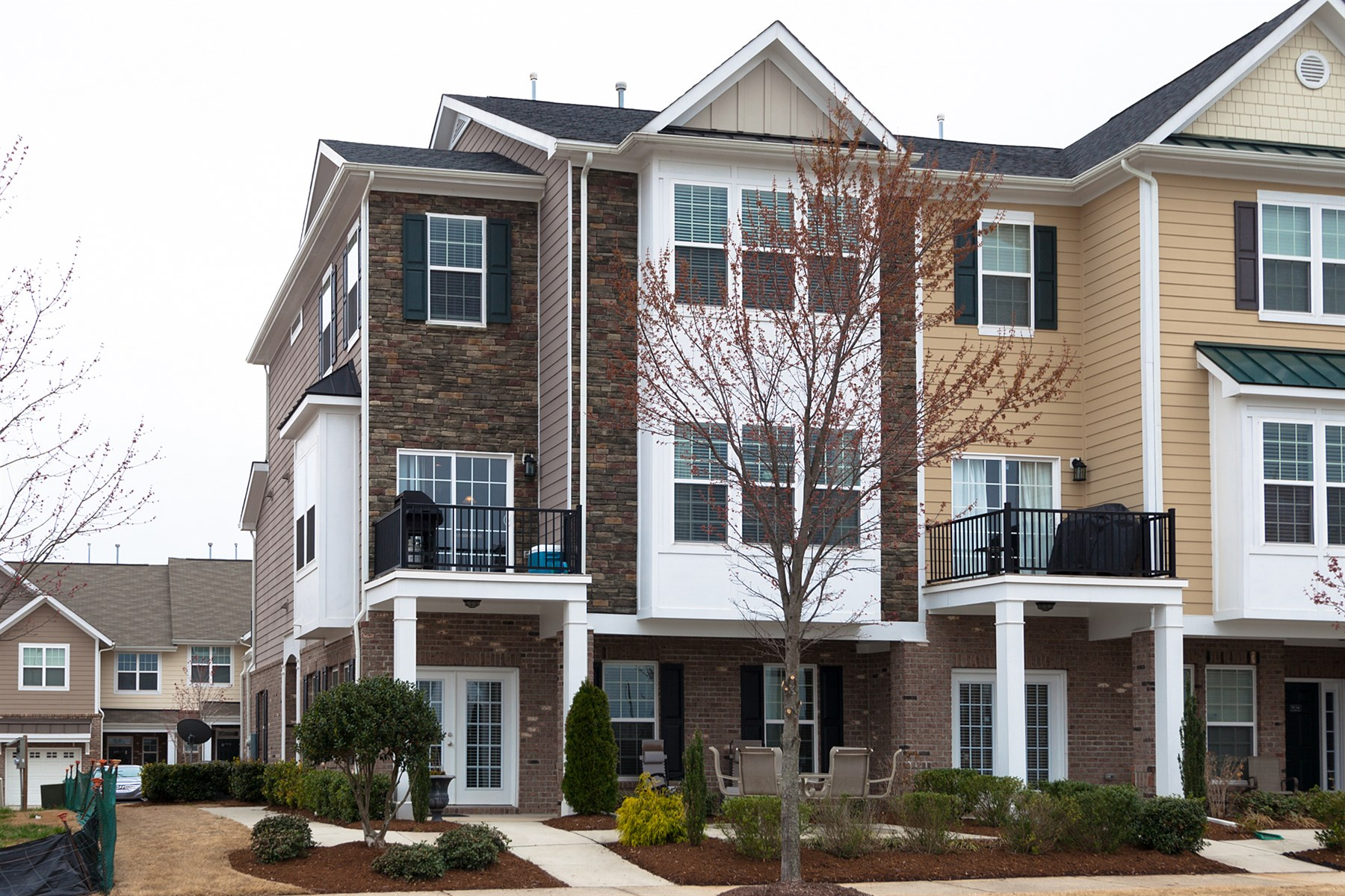 Townhouse for Sale at Luxurious Townhome 9132 Wooden Road Raleigh, North Carolina 27617 United States