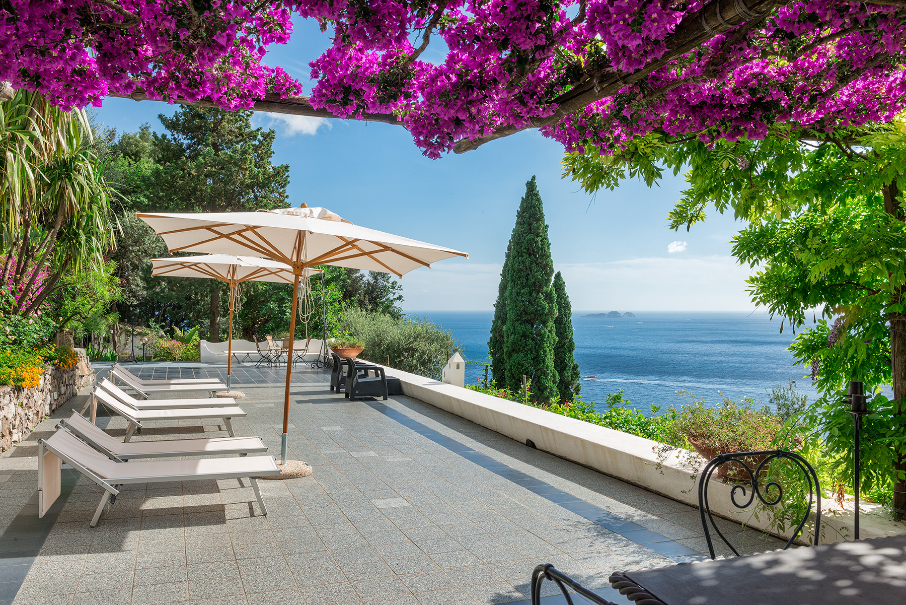 Single Family Home for Sale at Exclusive panoramic villa in Positano Positano, Italy