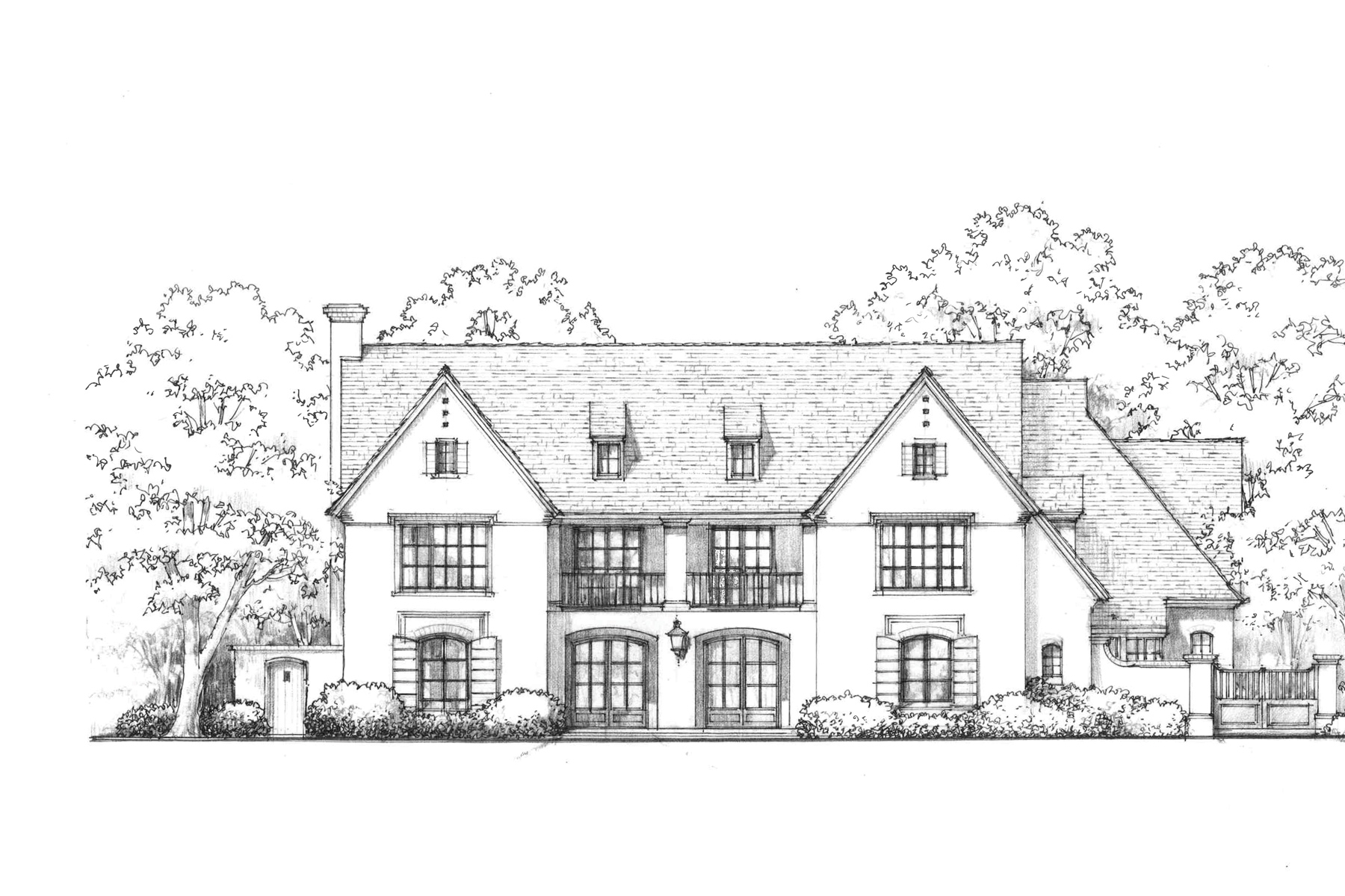 Moradia para Venda às New Construction-Preston Hollow Estate 5530 Falls Road Dallas, Texas, 75220 Estados Unidos