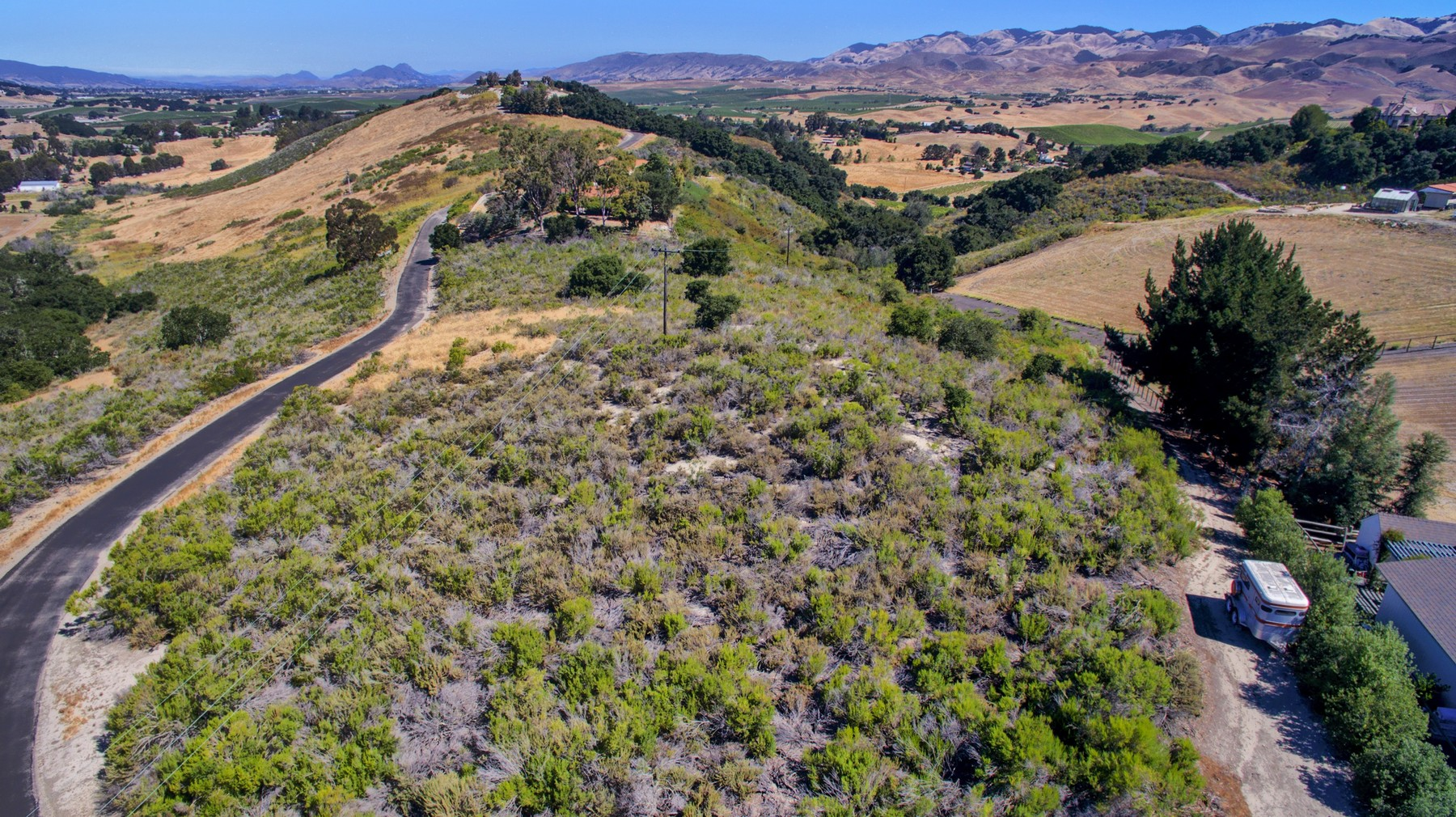 Terreno per Vendita alle ore Majestic Valley & Vineyard Views in Arroyo Grande 1905 Corbett Highlands Place Arroyo Grande, California 93420 Stati Uniti