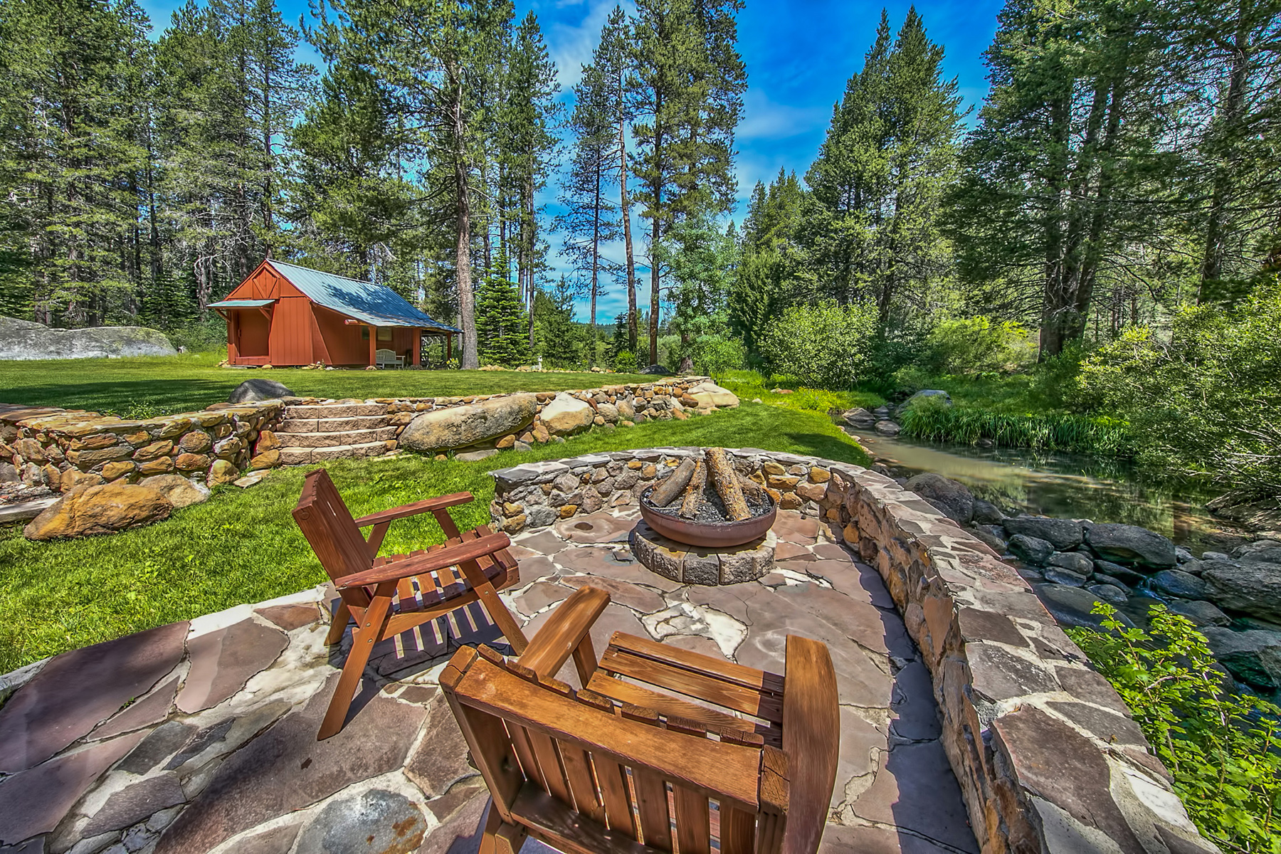 Single Family Home for Active at 11796 Euer Valley Road Truckee, California 96161 United States