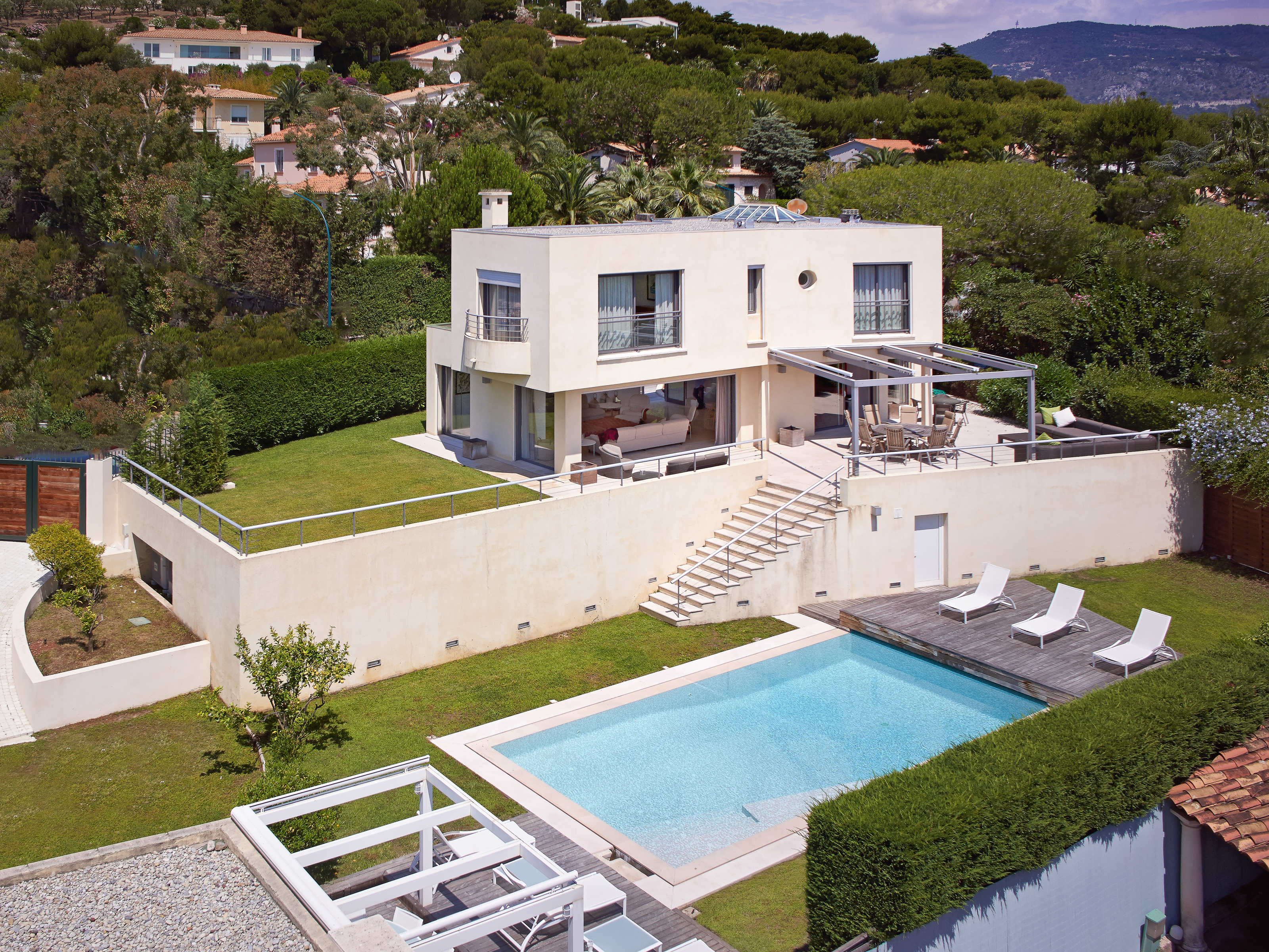 獨棟家庭住宅 為 出售 在 Contemporary Villa in the Heart of St Jean Cap Ferrat Saint Jean Cap Ferrat Saint Jean Cap Ferrat, 普羅旺斯阿爾卑斯藍色海岸 06230 法國