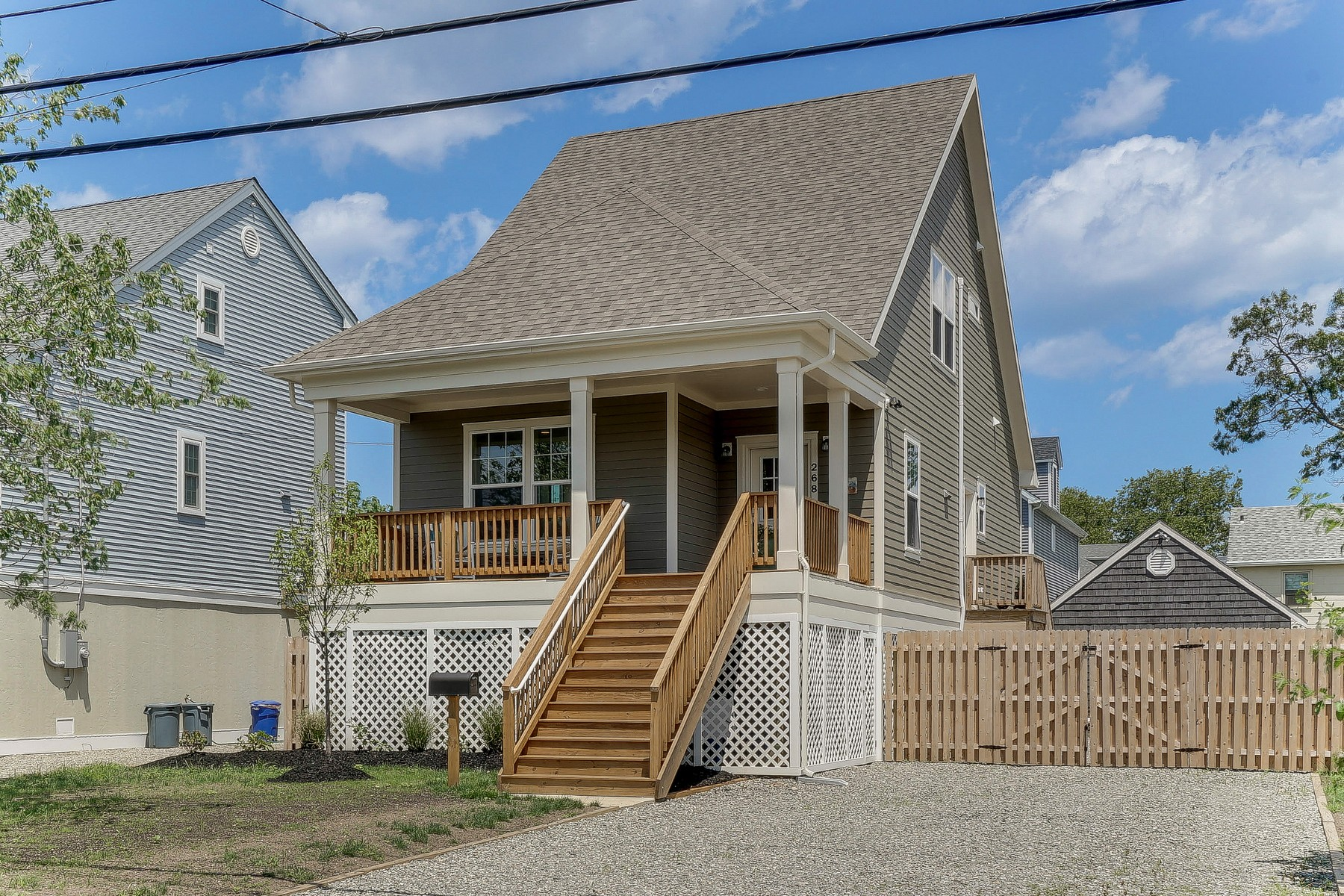 Single Family Home for Sale at A-Frame Cape 268 E Virignia Ave Manasquan, New Jersey 08736 United States