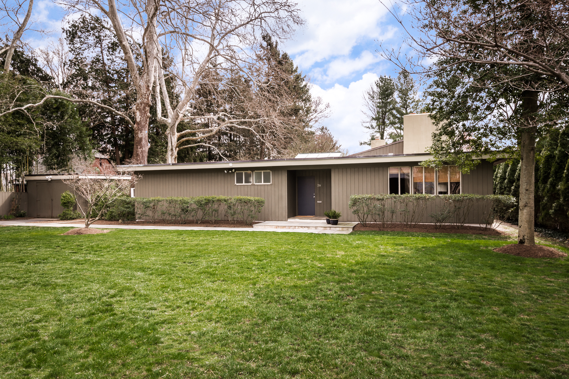 sales property at Mid-Century Modern Nestled Near the Institute