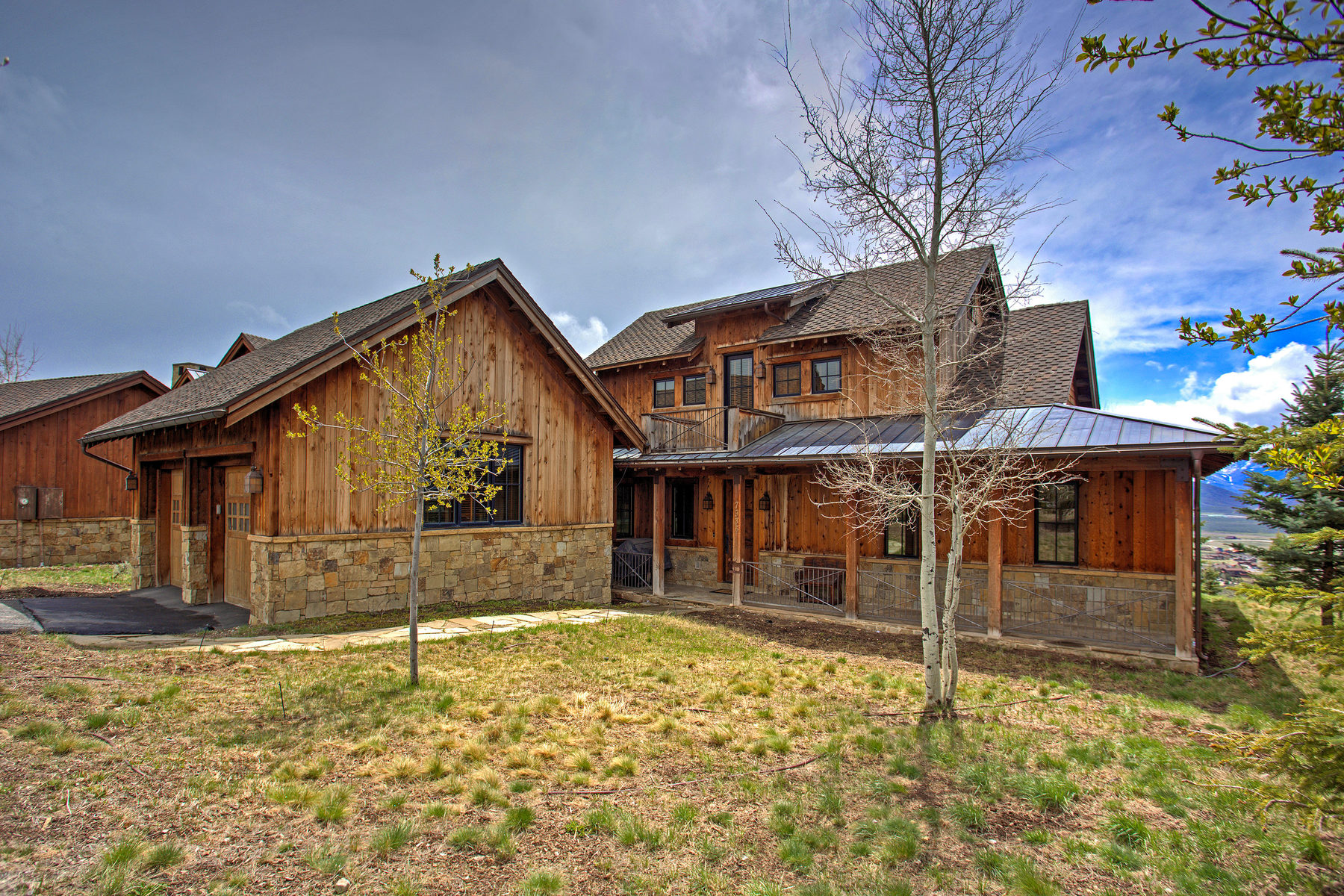 Maison unifamiliale pour l Vente à Perfect Promontory Retreat with Uncompromising Ski Mountain Views 7935 Western Sky Lot 6 Park City, Utah, 84098 États-Unis
