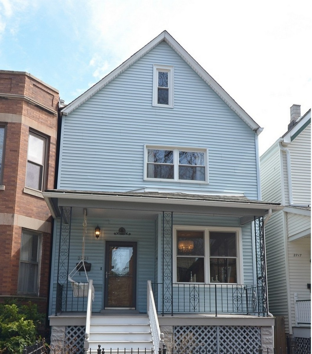 Single Family Home for Sale at Rehabbed Classic Victorian 2721 N Mozart Street Logan Square, Chicago, Illinois, 60647 United States