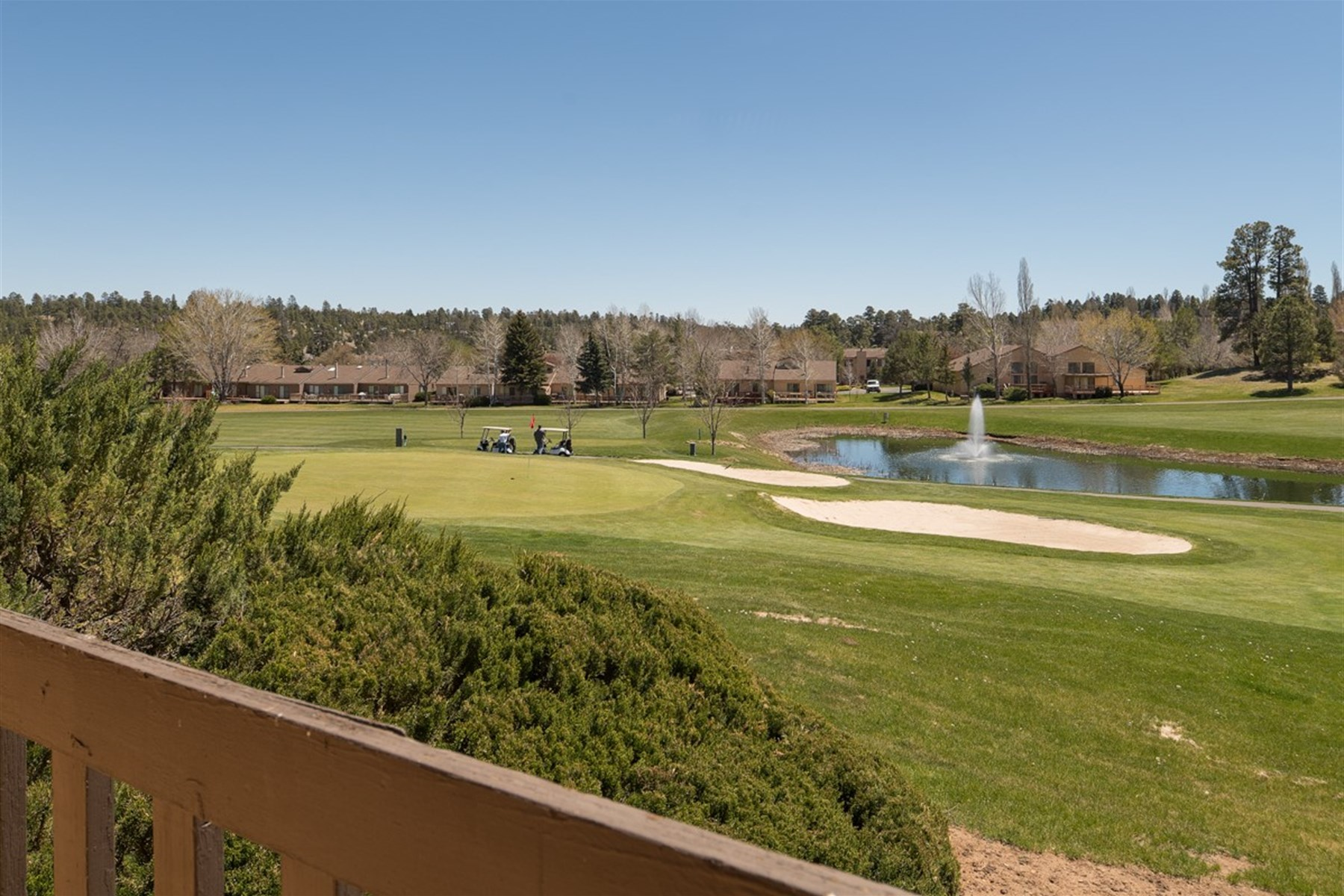 Townhouse for Sale at Dynamite views of the golf course. 2900 N Saddleback WAY 61 Flagstaff, Arizona 86004 United States