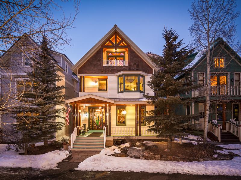 Single Family Home for Sale at 627 West Colorado Avenue Telluride, Colorado 81435 United States