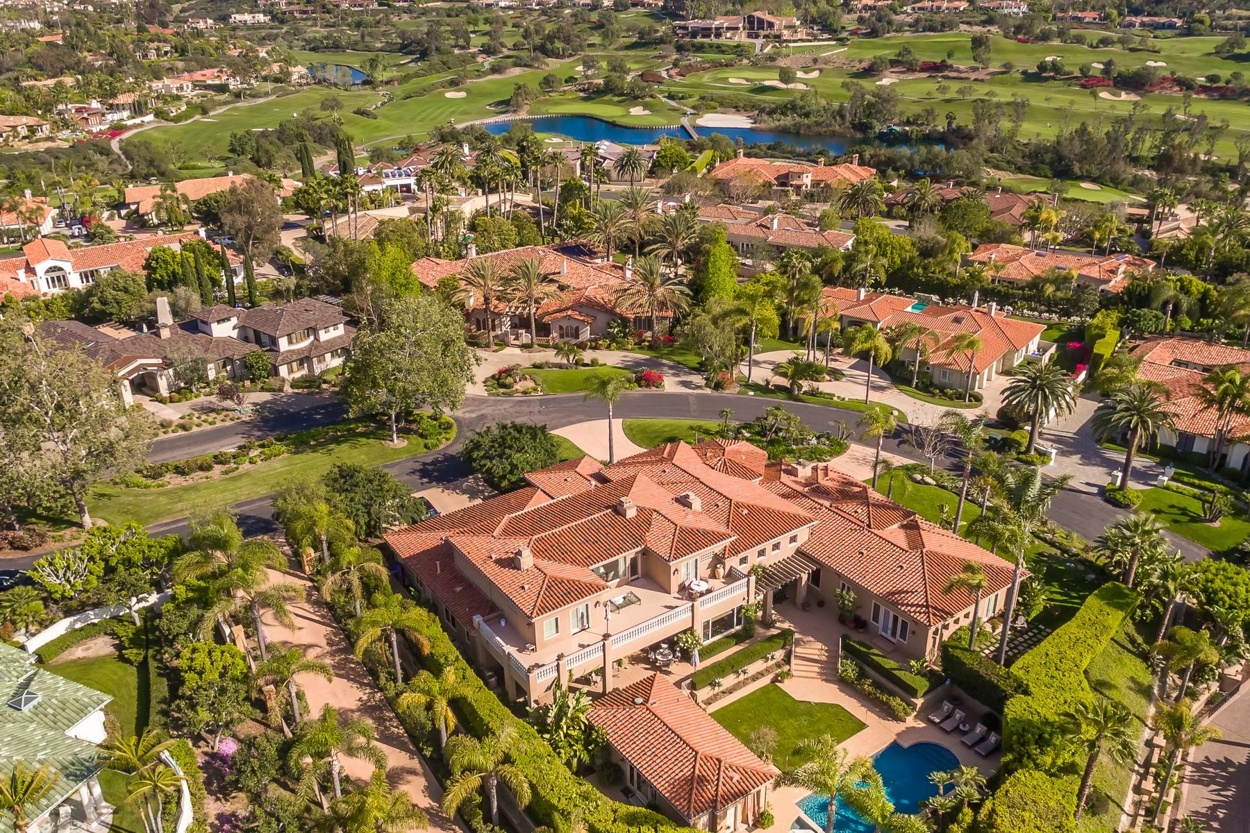 Vivienda unifamiliar por un Venta en 7846 Muirfield Way Rancho Santa Fe, California, 92067 Estados Unidos