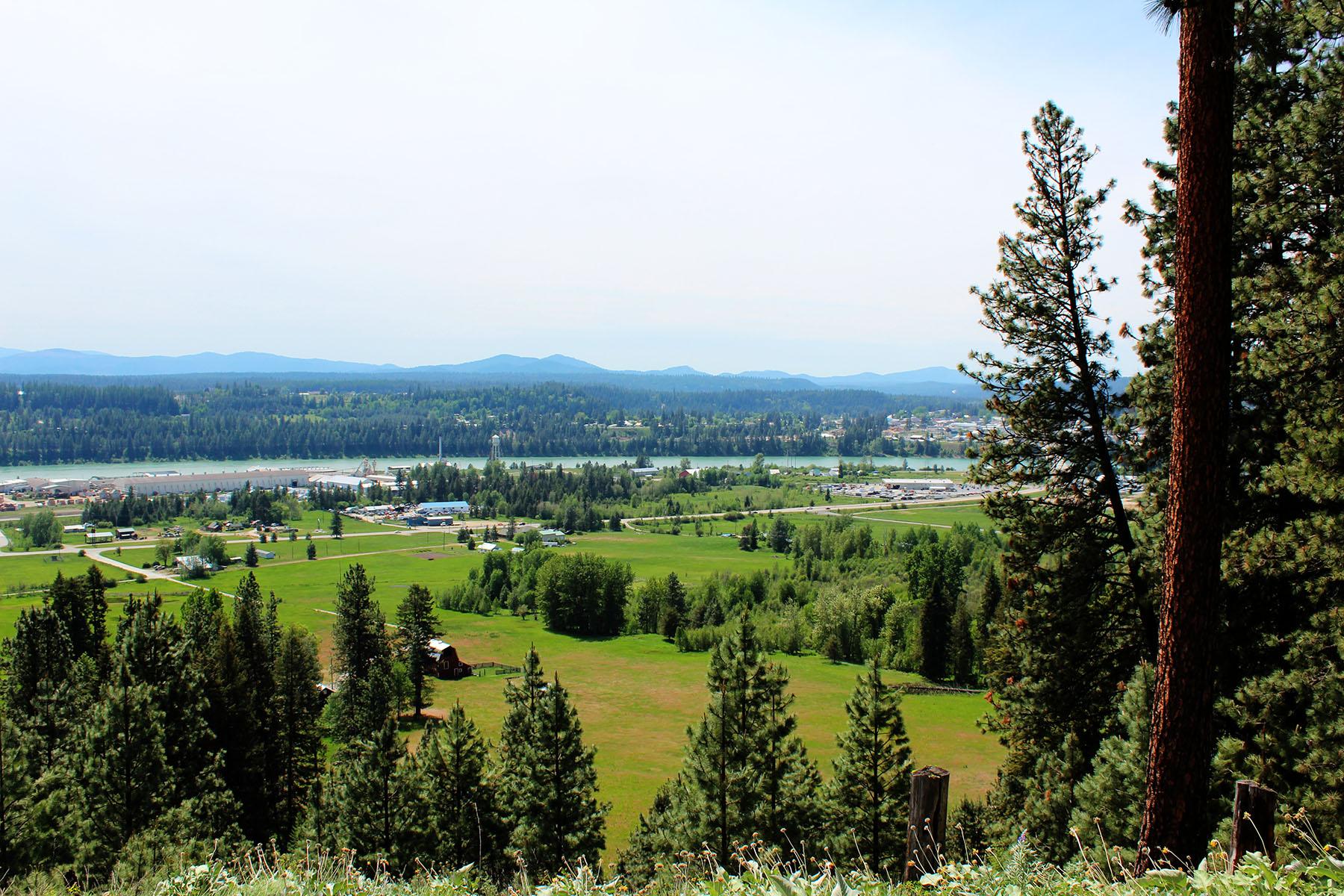 Terrain pour l Vente à Beautiful building parcels. Lot 12 W Diamond Heights Rd Oldtown, Idaho, 83822 États-Unis