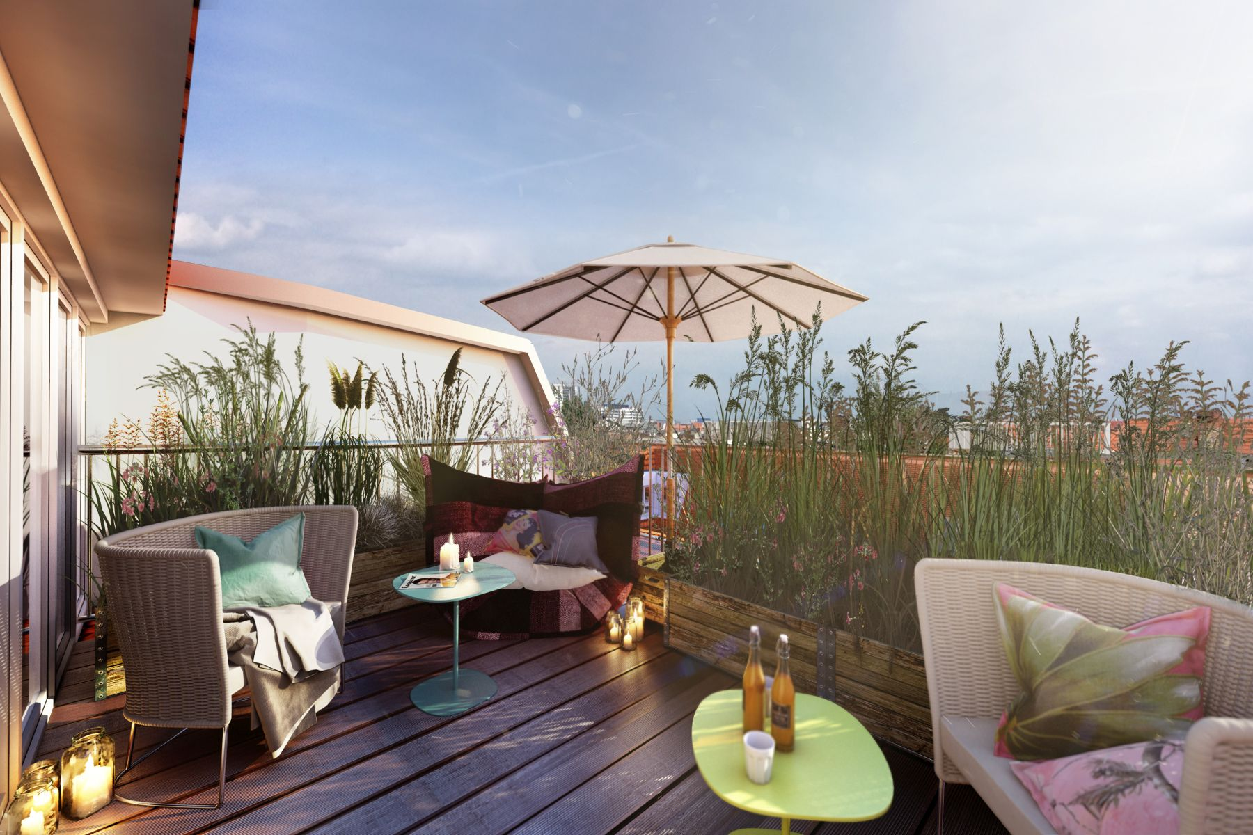 Single Family Home for Sale at Exclusive Penthouse with roof terrace with view over Berlin! Berlin, Berlin, 10629 Germany
