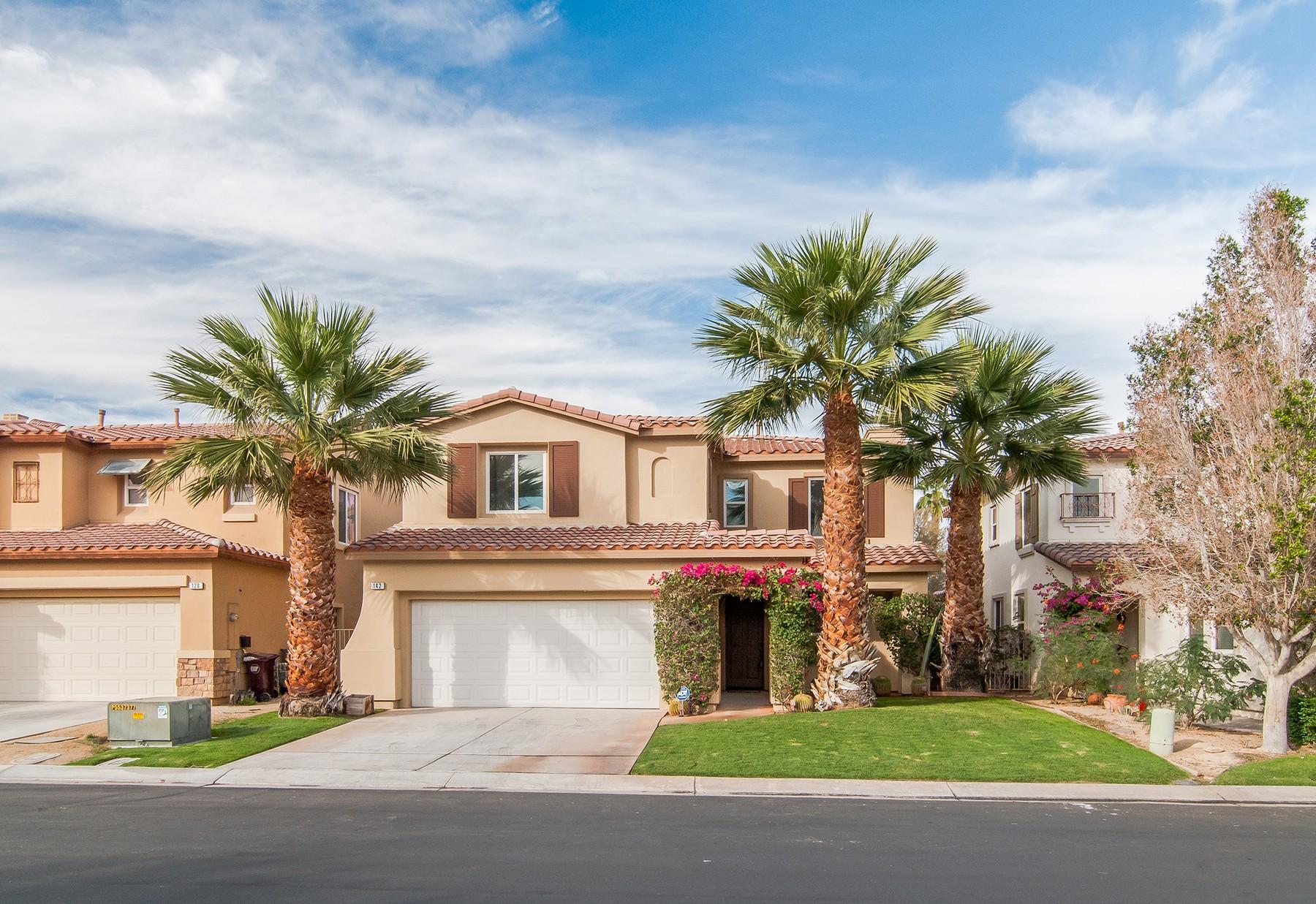 Частный односемейный дом для того Продажа на 142 Paseo Vista Circle Palm Desert, Калифорния, 92260 Соединенные Штаты