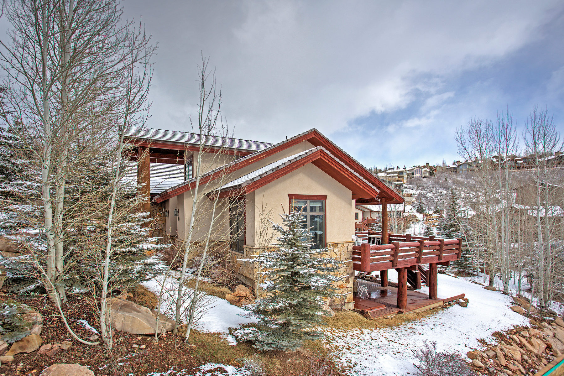 Single Family Home for Sale at Deer Valley Home Minutes from Ski Resort 3180 Solamere Dr Park City, Utah 84060 United States