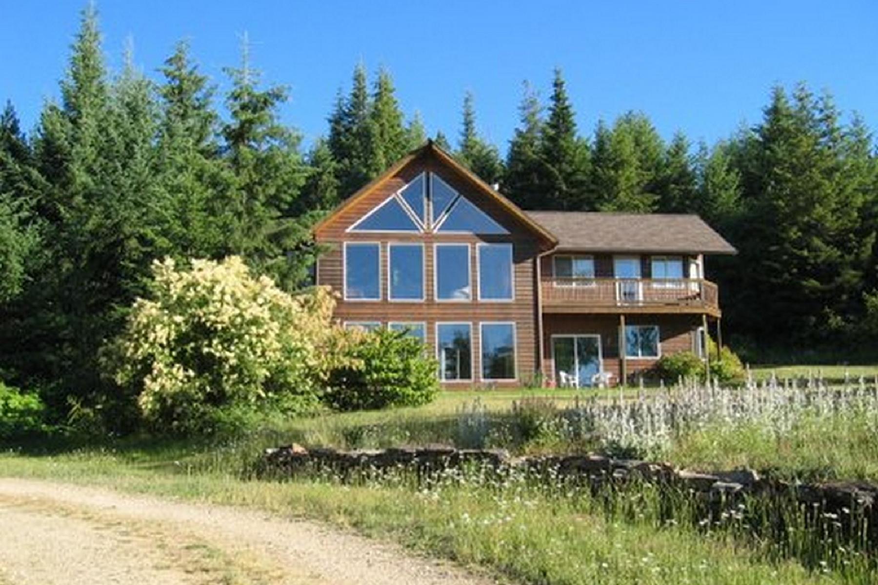 단독 가정 주택 용 매매 에 Acreage and Privacy with Lake Cd'A View 4190 E EAGLES MERE RD Harrison, 아이다호 83833 미국