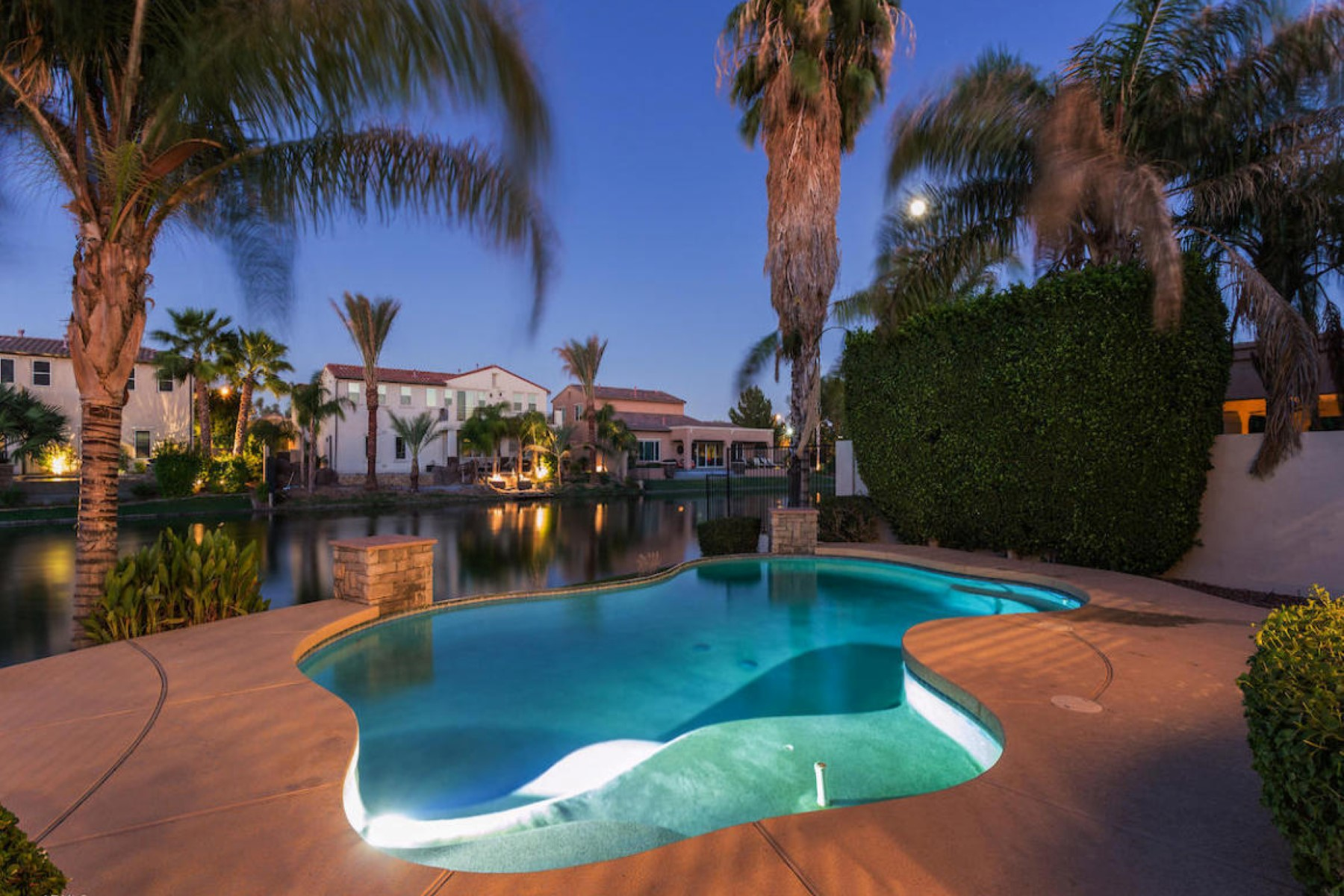 sales property at Gorgeous waterfront home in Laguna Cove