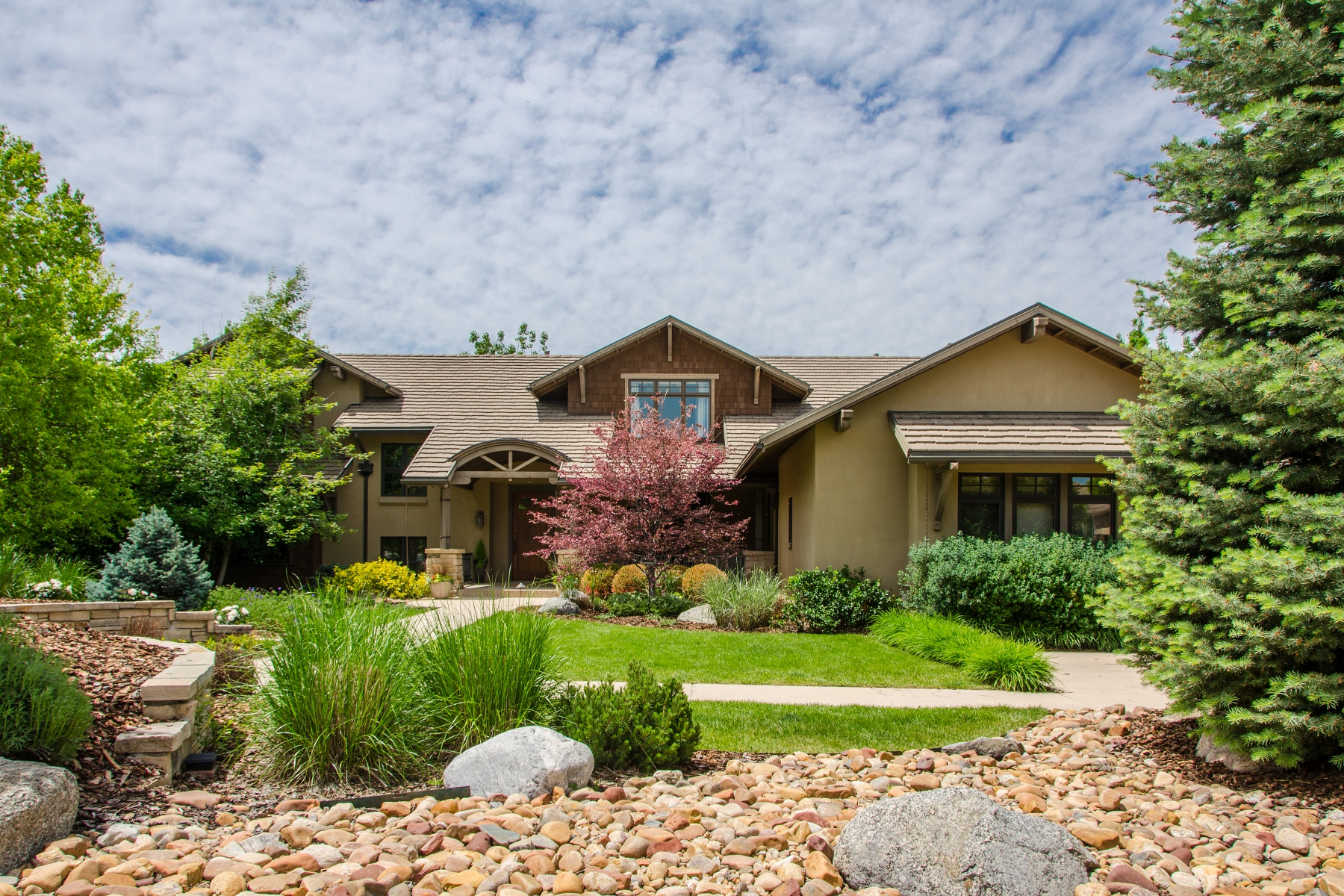 Property For Sale at Distinguished craftsman style custom home!