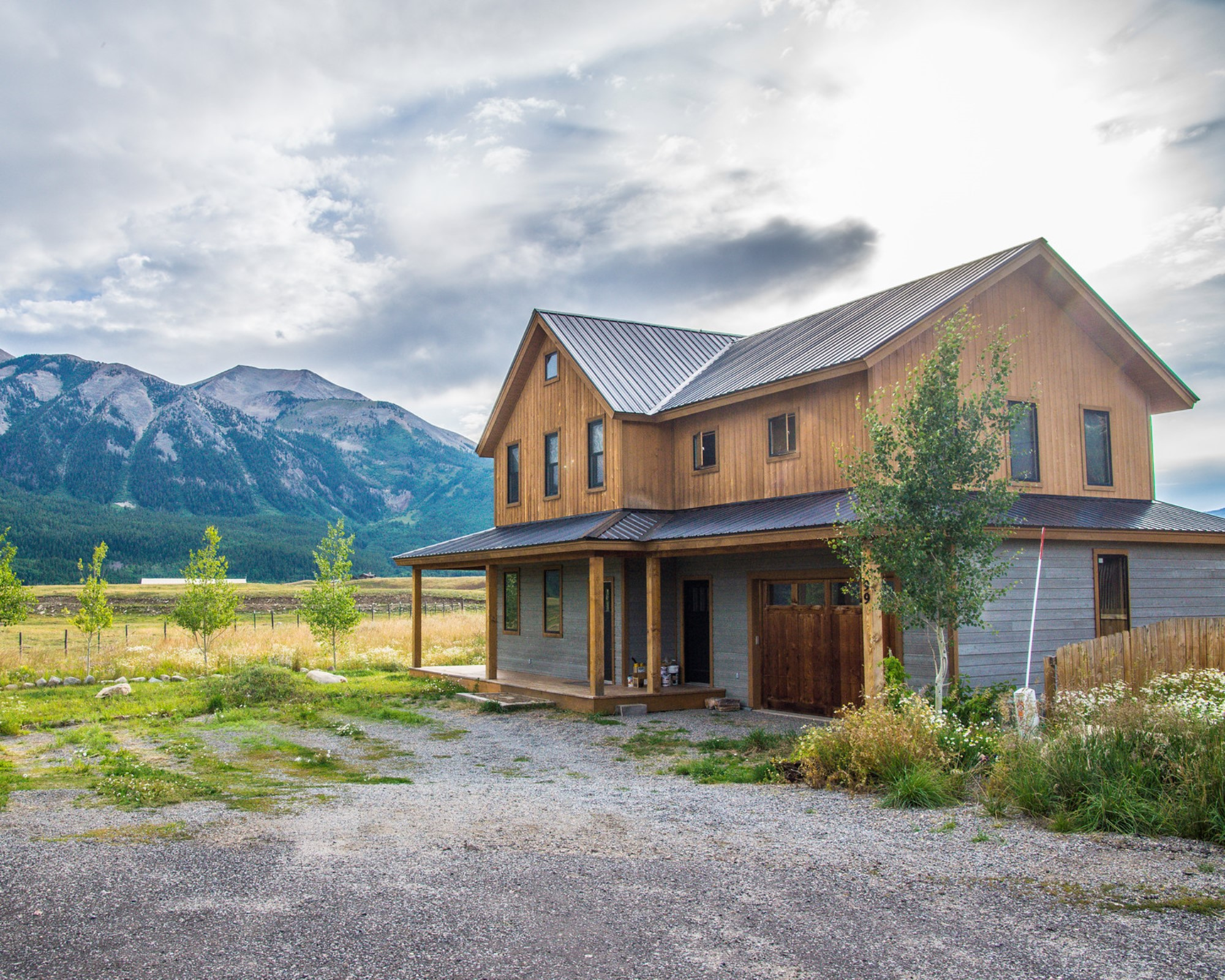 Single Family Home for Sale at Modern Mountain Living 99 Bridal Spur Way Crested Butte, Colorado 81224 United States