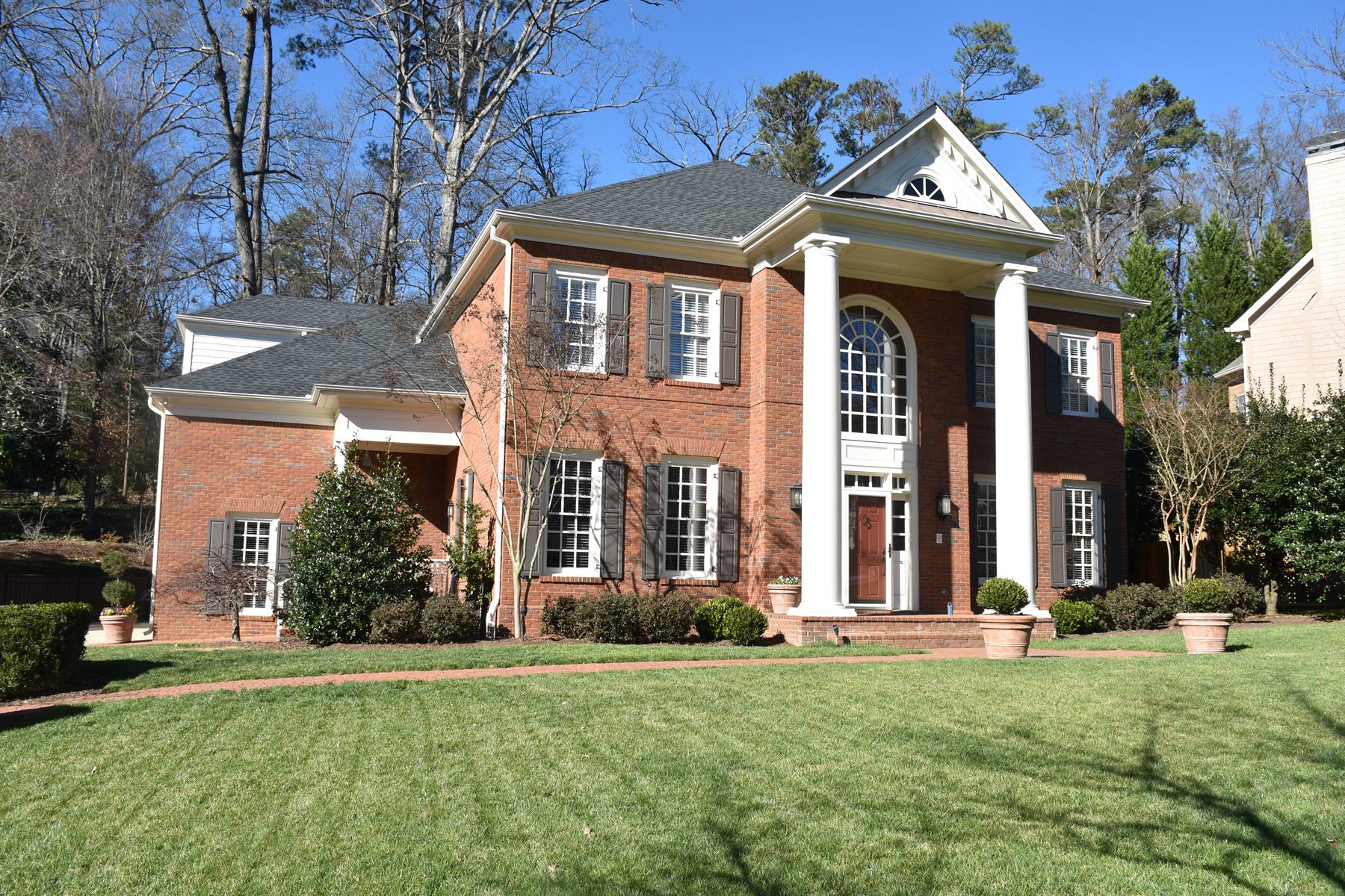 Single Family Home for Sale at Immaculate Home Near Westminster 1321 Twelve Oaks Circle Buckhead, Atlanta, Georgia 30327 United States