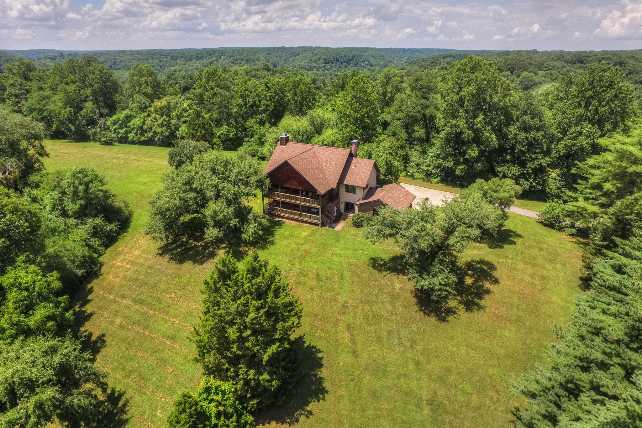 sales property at Once in a Lifetime Hilltop Home on 11 Acres