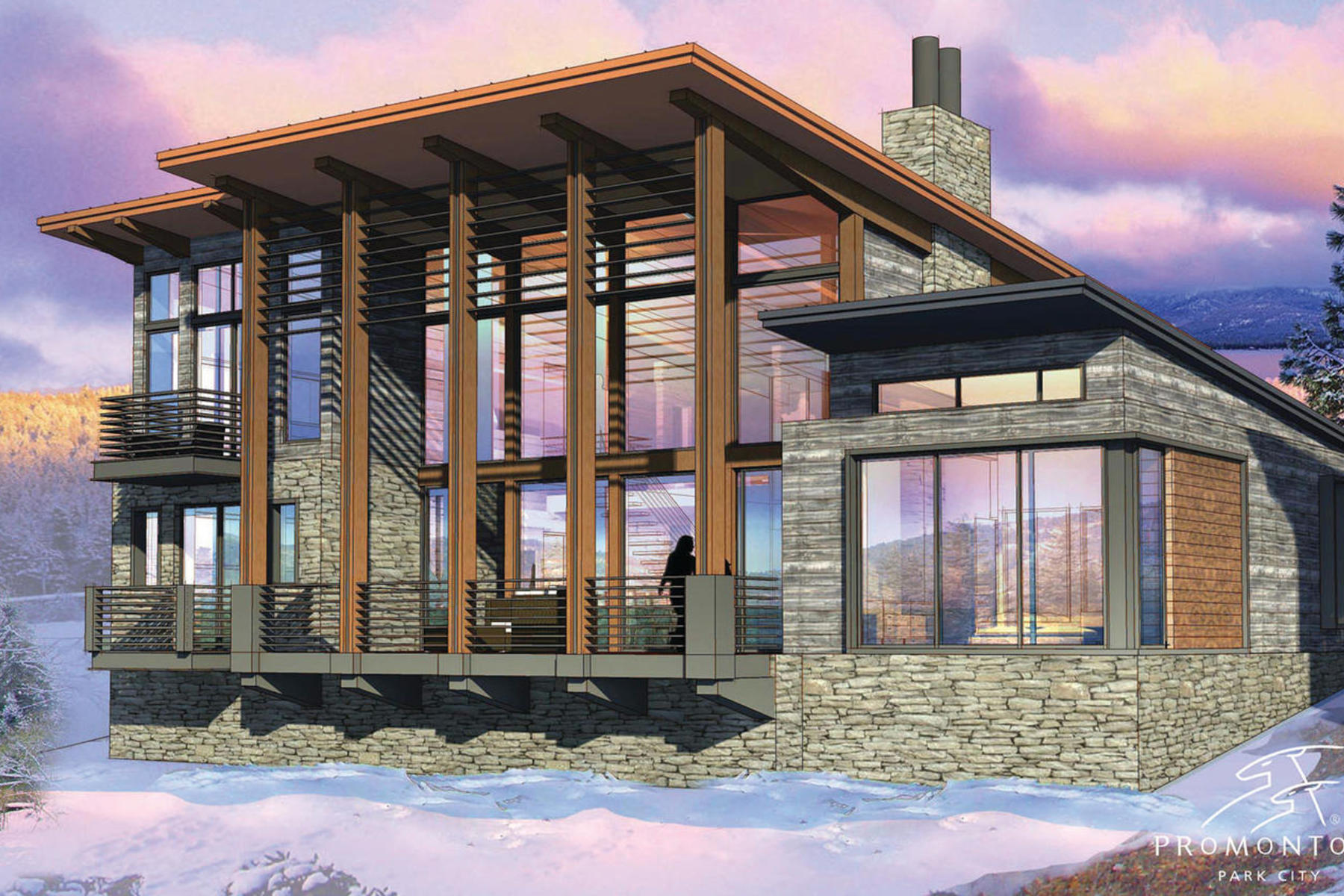 Maison unifamiliale pour l Vente à New Nicklaus Golf Cabin Promontory 6594 Golden Bear Lp West Park City, Utah, 84098 États-Unis