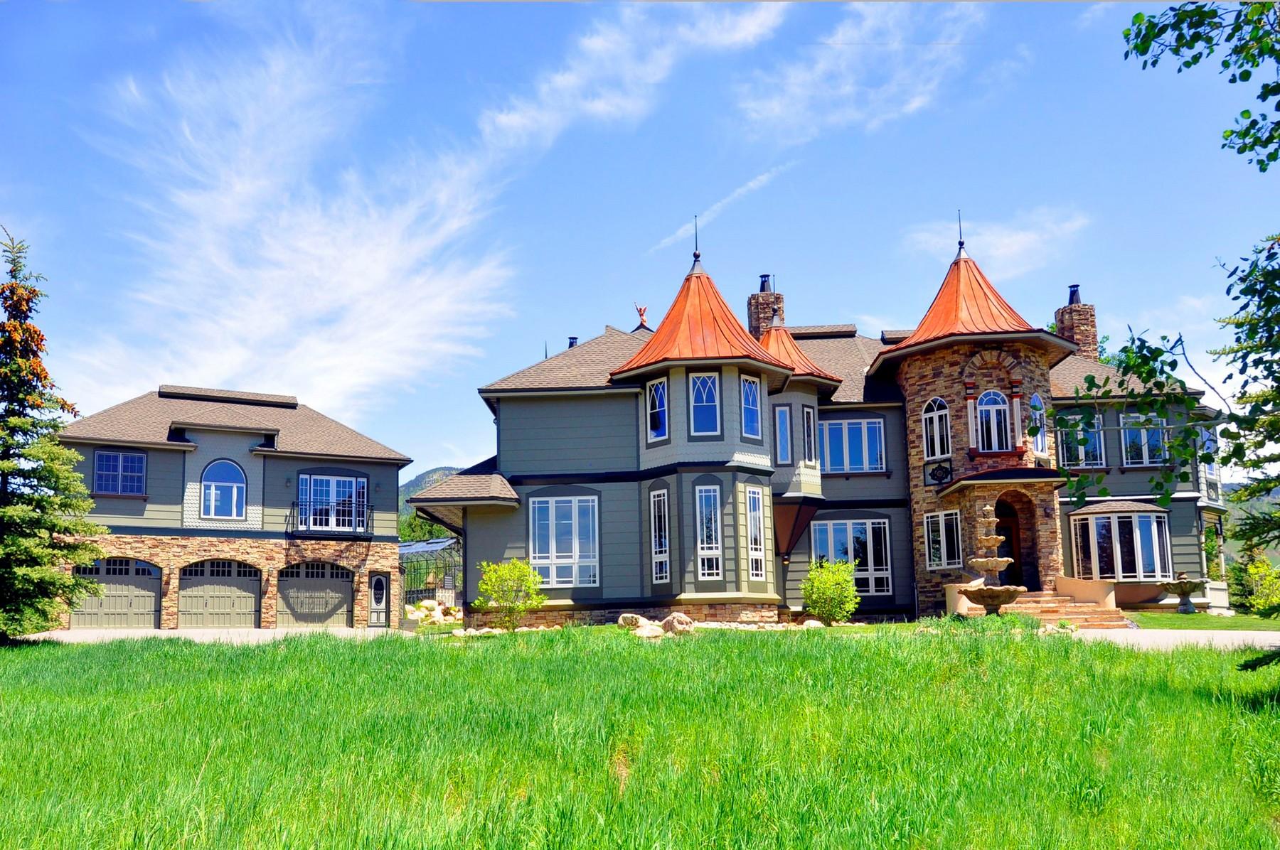 Einfamilienhaus für Verkauf beim One-Of-A-Kind Victorian Home 1167 Anglers Drive Steamboat Springs, Colorado 80487 Vereinigte Staaten