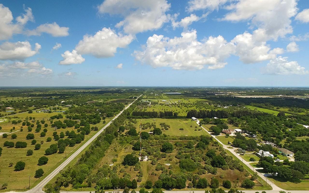 土地 のために 売買 アット Nearly 10 Acres to Build Your Dream Home 6590 65th Avenue Vero Beach, フロリダ, 32967 アメリカ合衆国