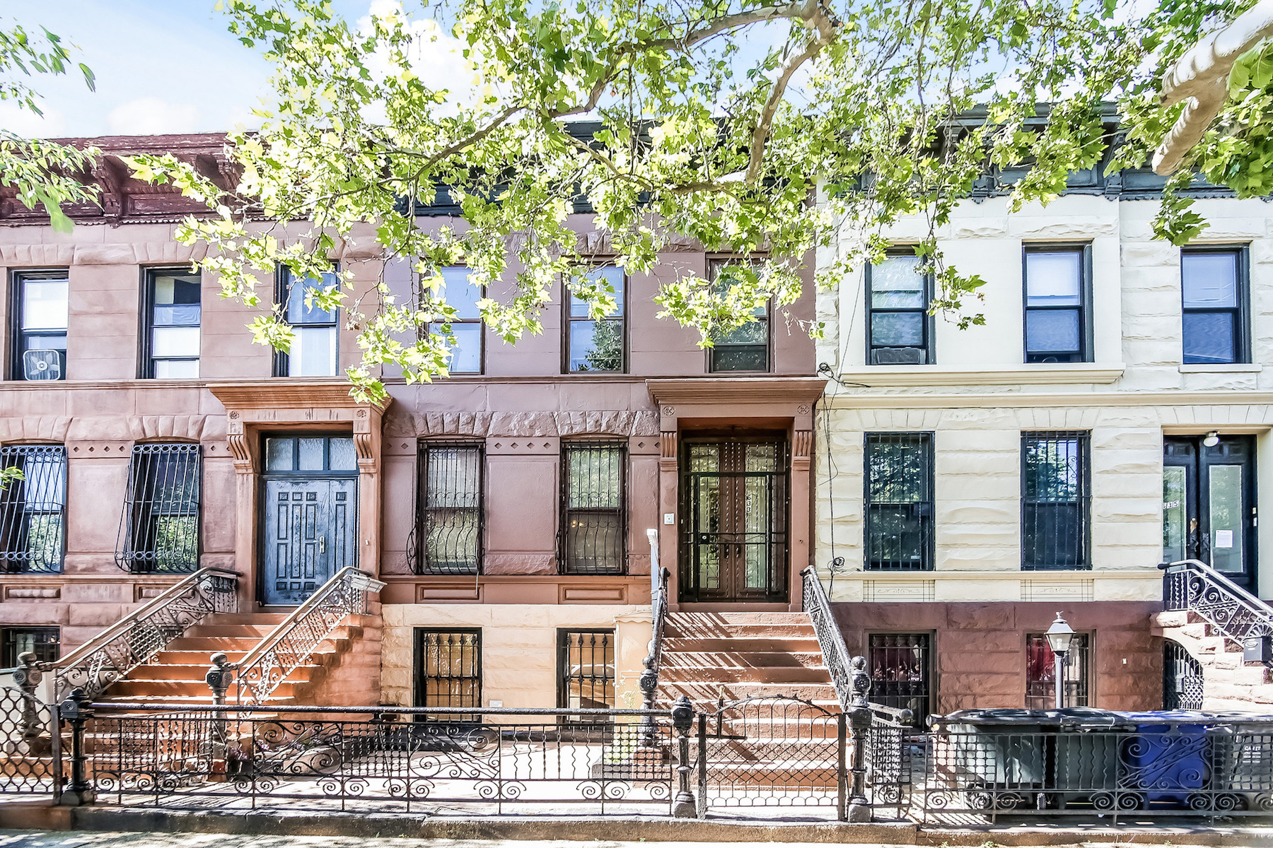 sales property at New To Market Two-Family Townhouse in Stuyvesant Heights