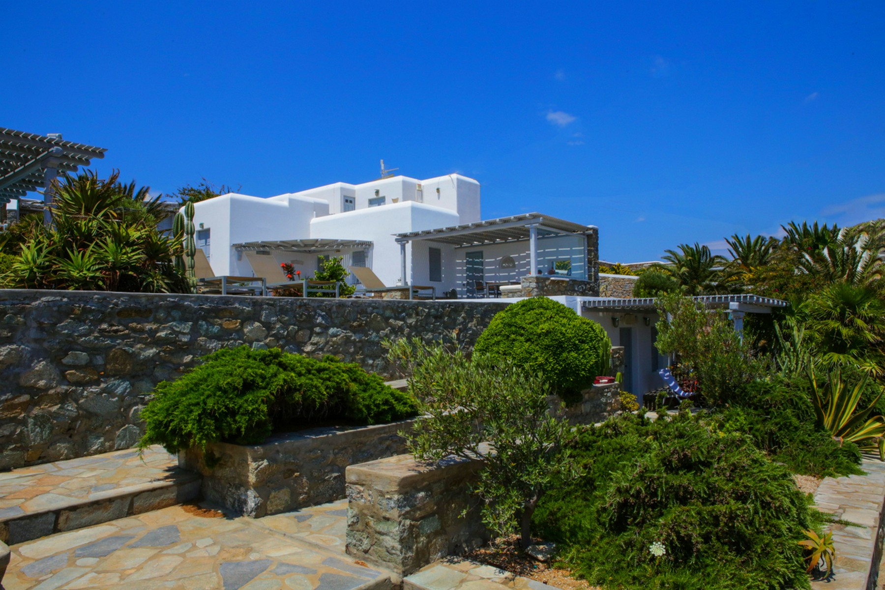 Single Family Home for Sale at St. George Modern Villa Mykonos Mykonos, Southern Aegean 84600 Greece