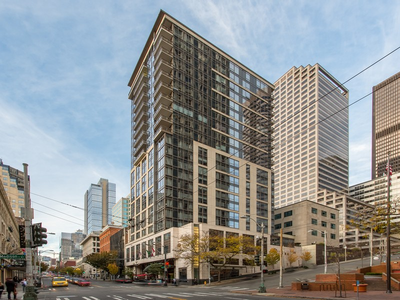 Condominium for Sale at Madison Tower 1000 1st Ave #1804 Downtown, Seattle, Washington, 98104 United States