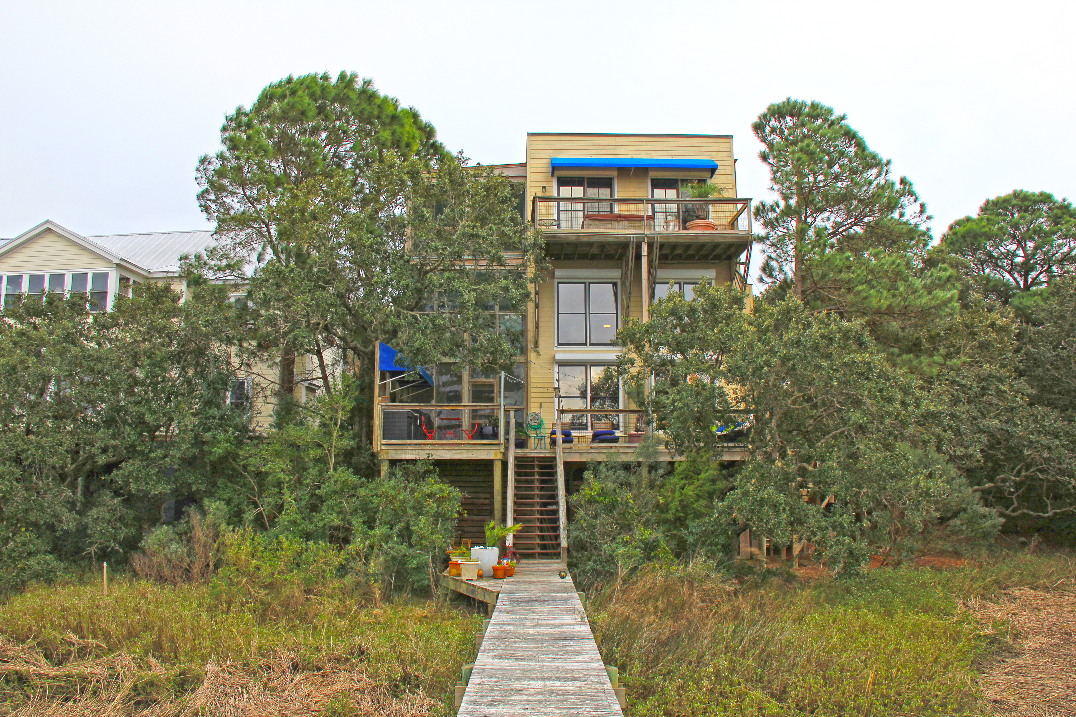 Property For Sale at Grand Contemporary Home on Folly Beach