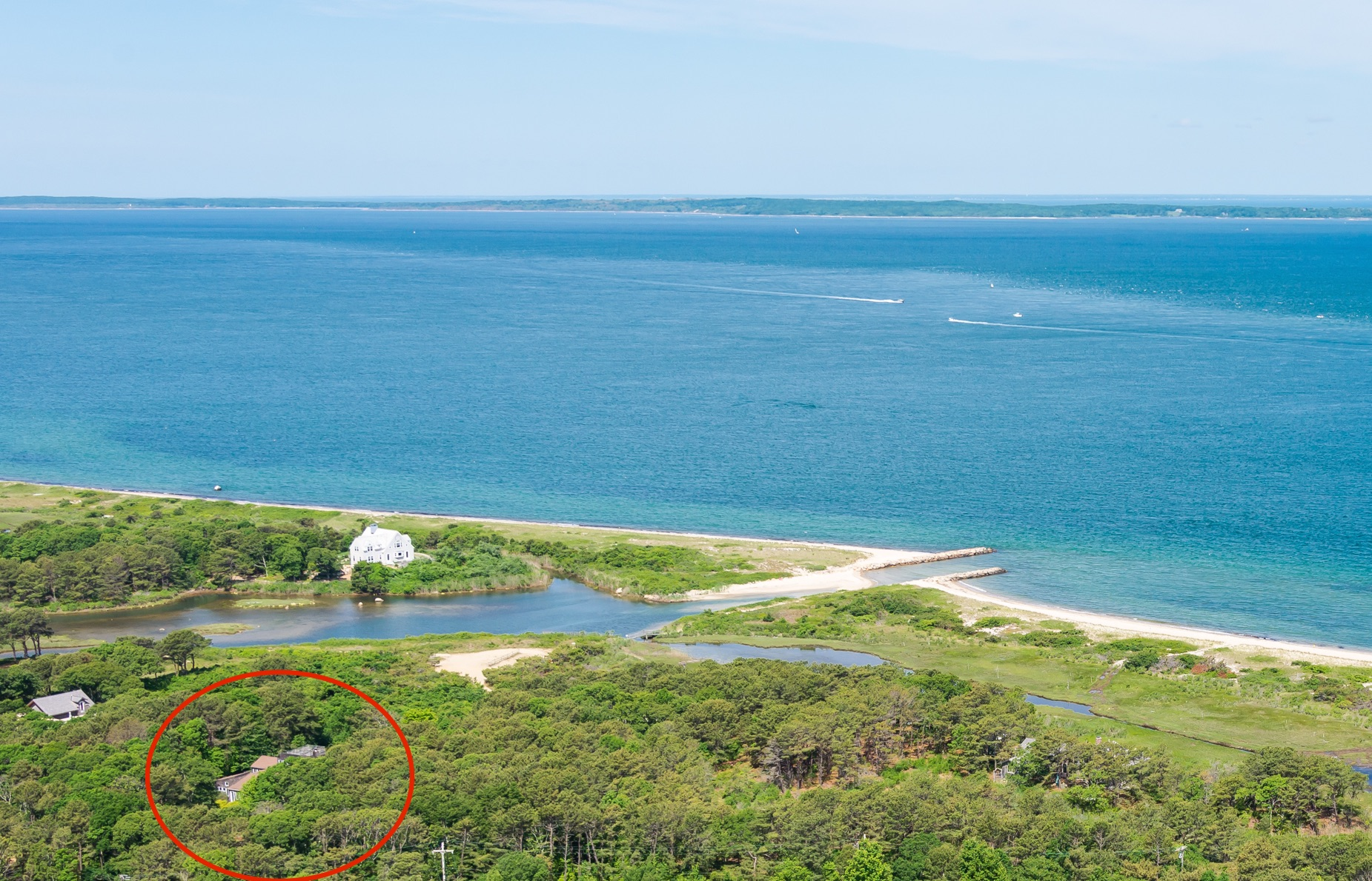 sales property at Contemporary home on Martha's Vineyard