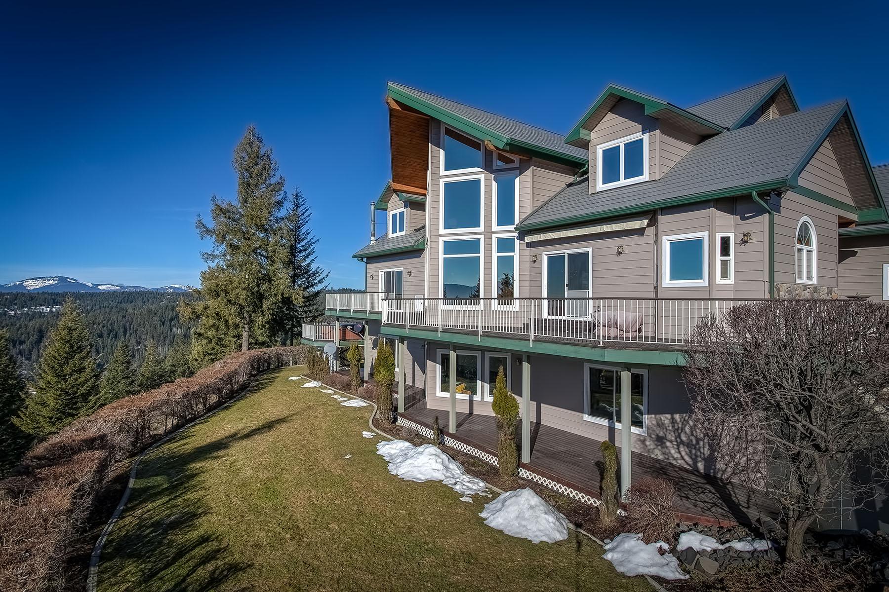 Casa Unifamiliar por un Venta en Rising Star Retreat 16200 N Rising Star Rd Hayden, Idaho, 83835 Estados Unidos